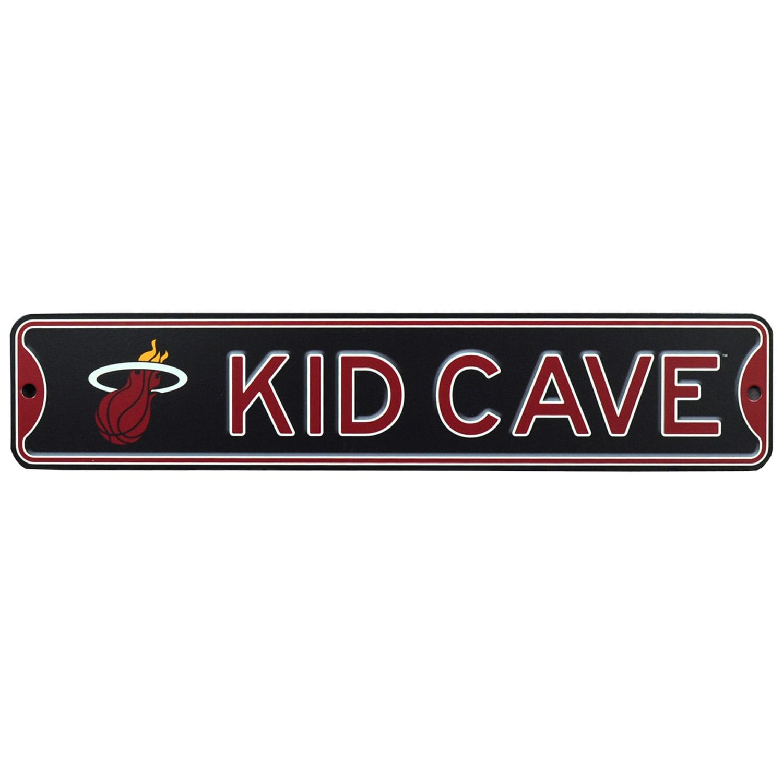Miami Heat 16'' Mini Steel Kid Cave Street Sign