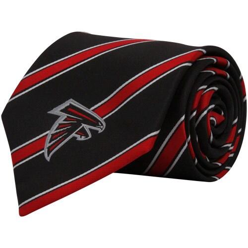 Atlanta Falcons Woven Poly Striped Tie