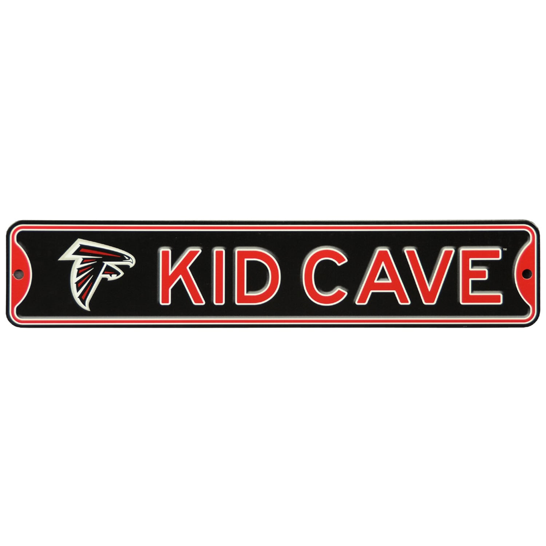 Atlanta Falcons 16'' Mini Steel Kid Cave Street Sign