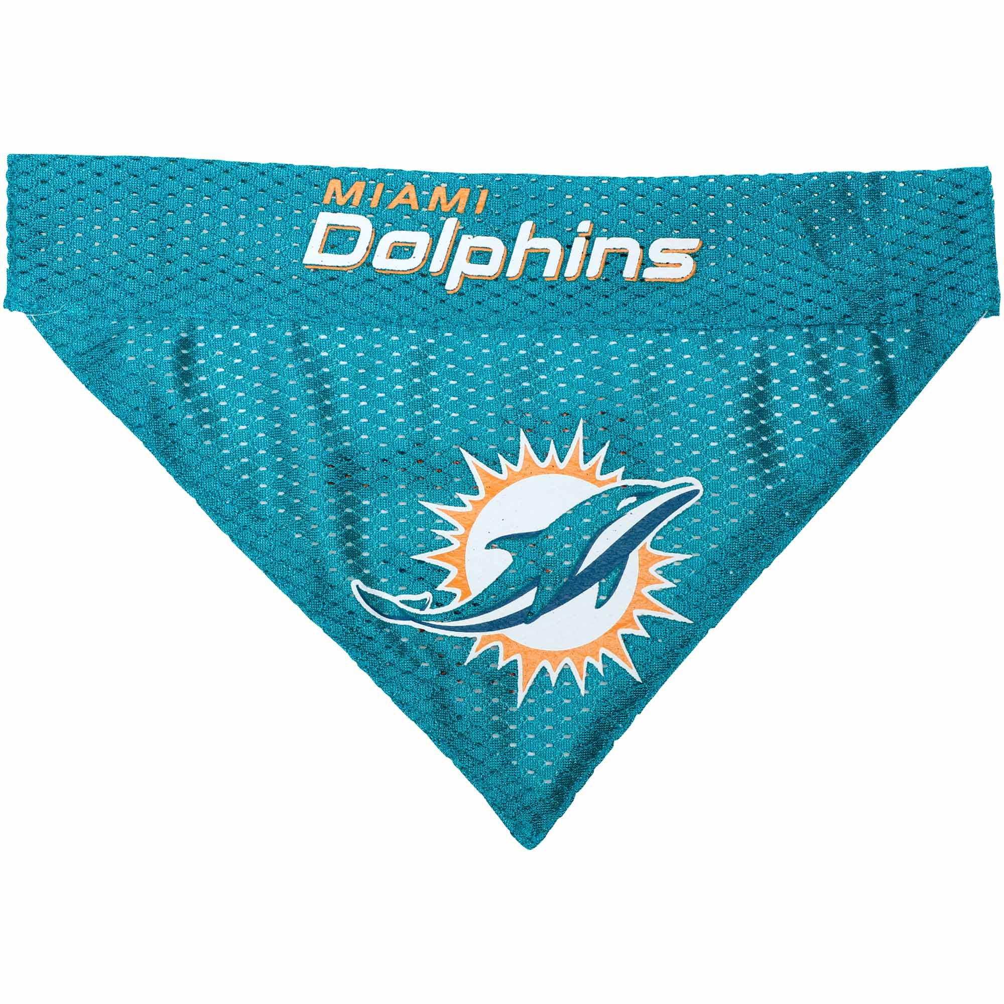 Miami Dolphins Reversible Pet Bandana
