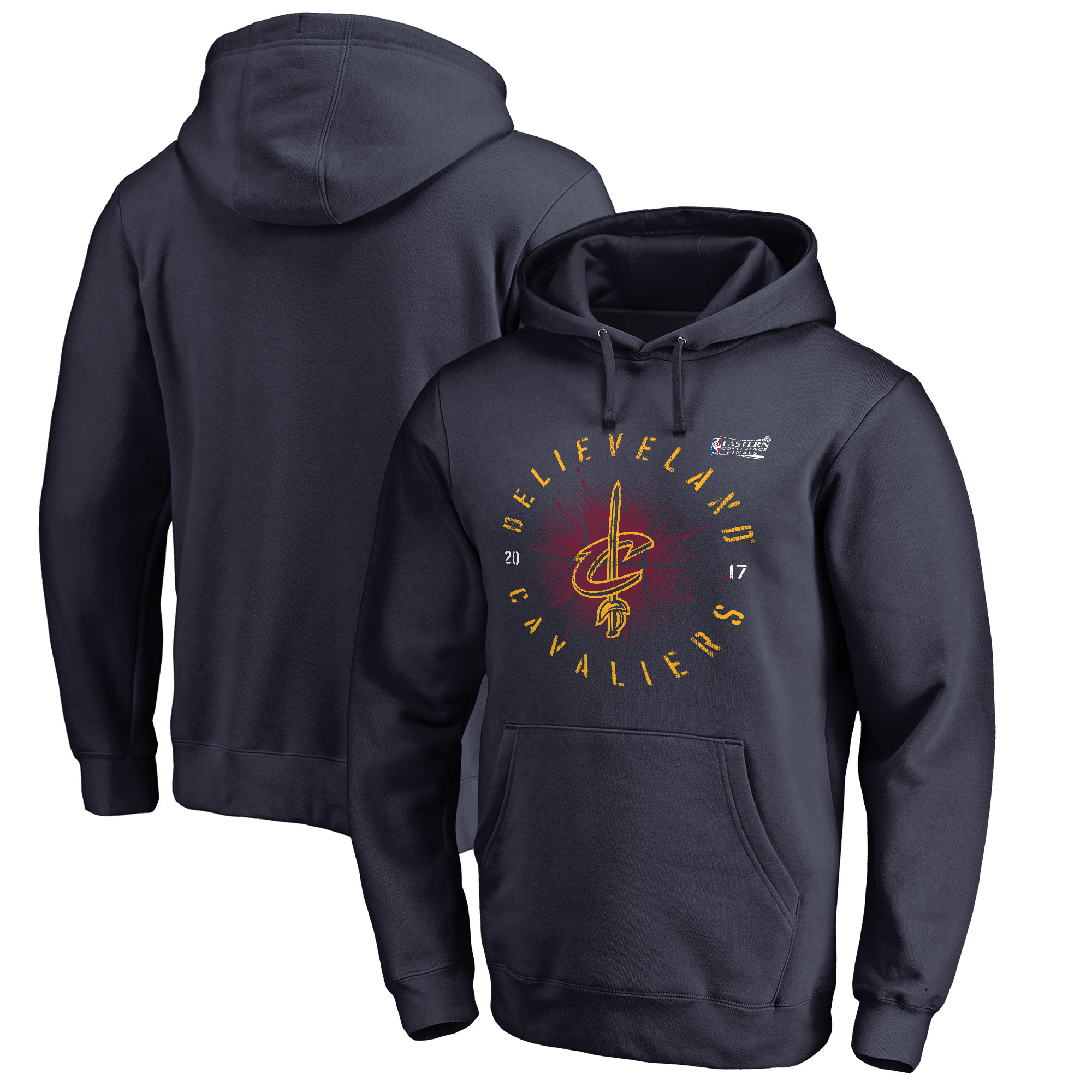 Cleveland Cavaliers Fanatics Branded 2017 Eastern Conference Finals Bound Buzzer Pullover Hoodie - Navy