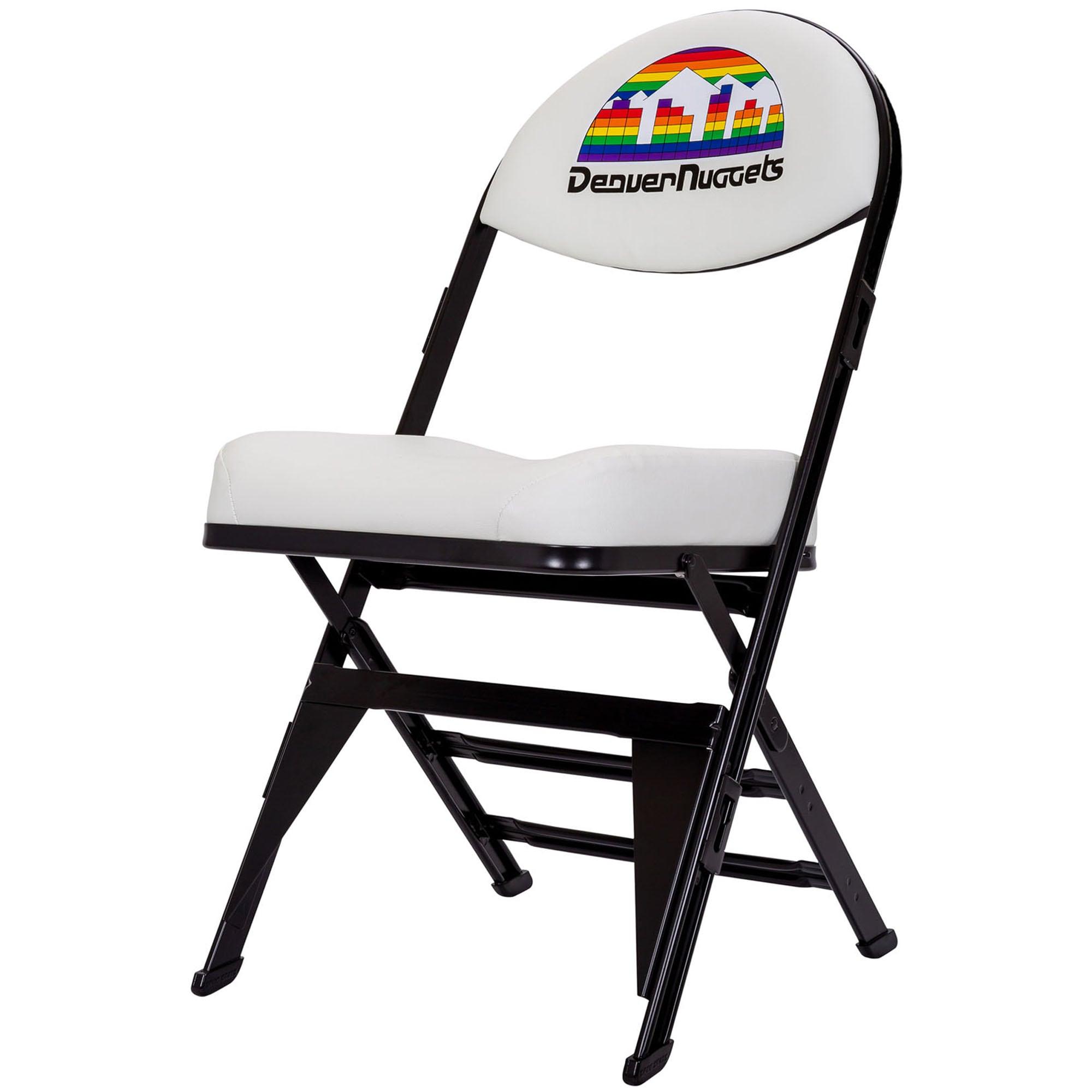 Denver Nuggets Retro Chair - White