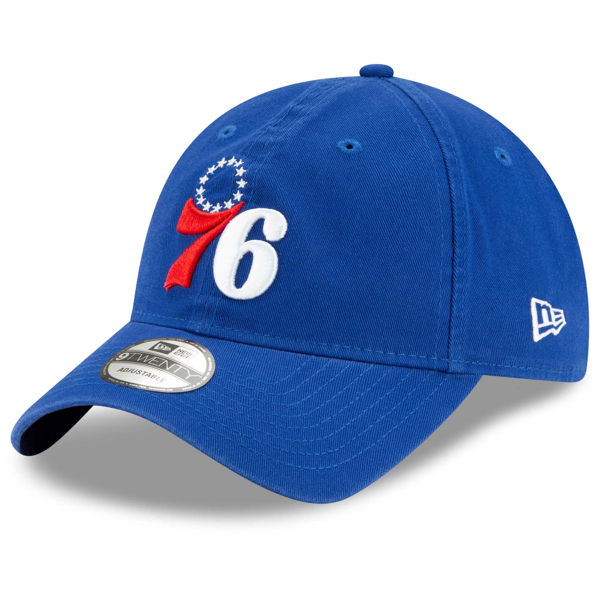 Philadelphia 76ers New Era Team Localized 9TWENTY Adjustable Hat - Royal