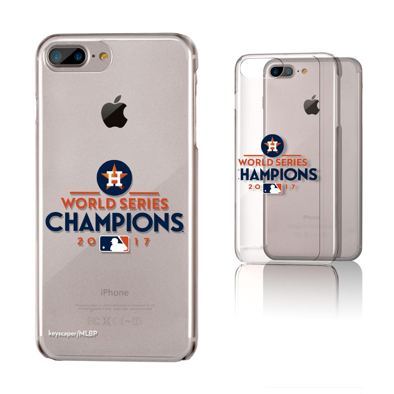 Houston Astros 2017 World Series Champions iPhone 6 Plus/6s Plus/7 Plus/8 Plus Clear Case