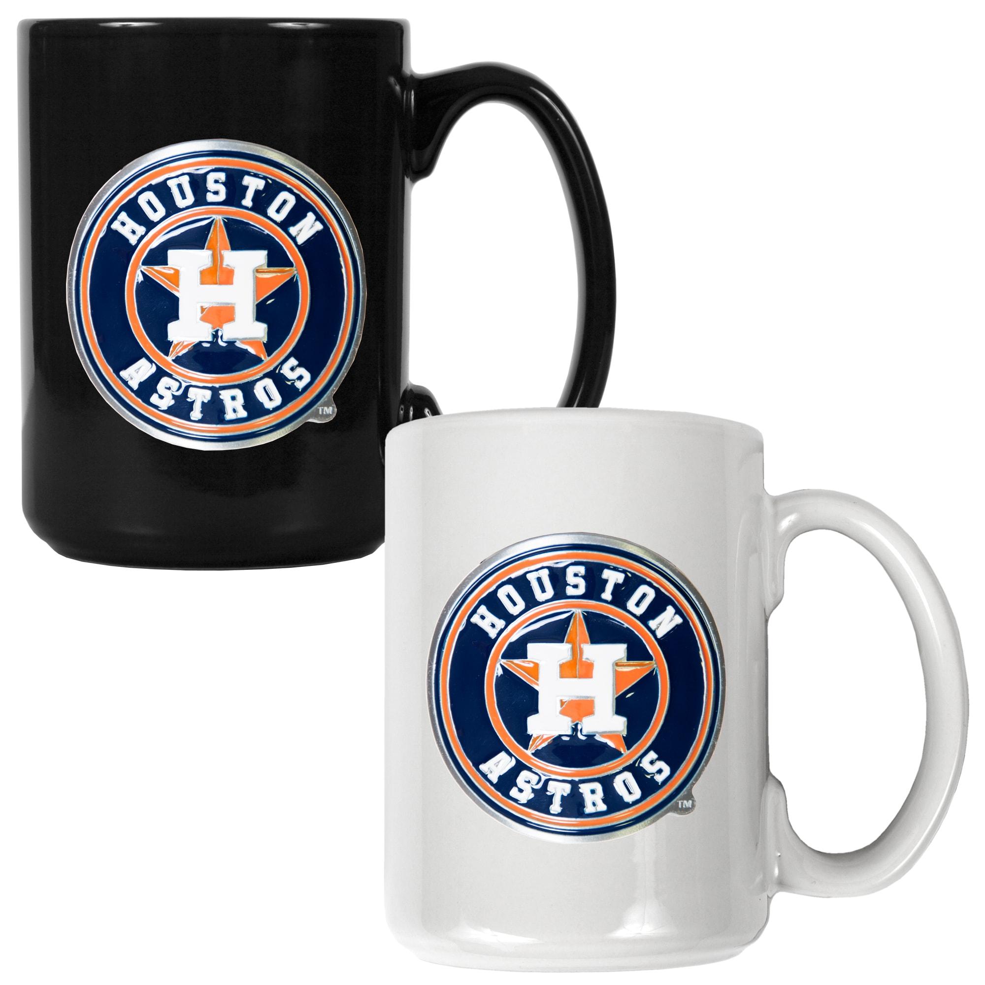 Houston Astros 15oz. Coffee Mug Set