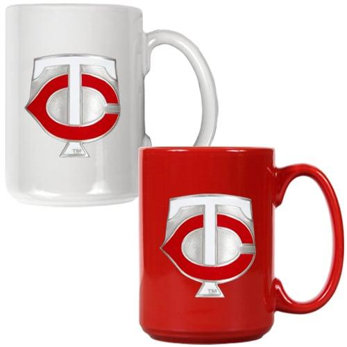 Minnesota Twins 15oz. Coffee Mug Set