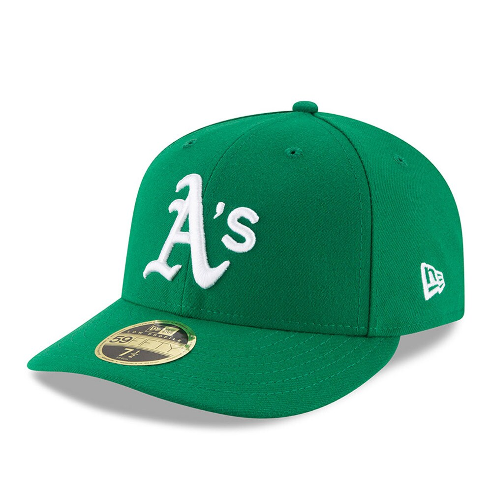 Oakland Athletics New Era Alt Authentic Collection On-Field Low Profile 59FIFTY Fitted Hat - Green