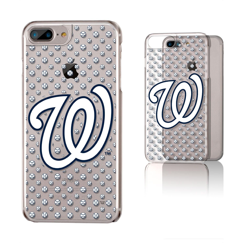 Washington Nationals iPhone 6 Plus/6s Plus/7 Plus/8 Plus Baseball Clear Case