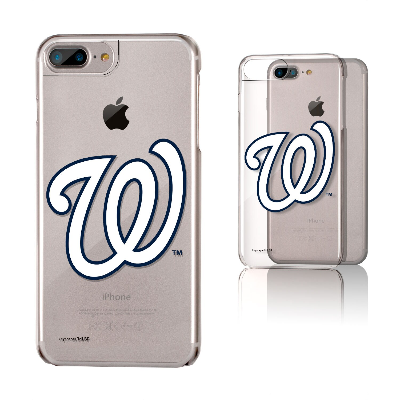 Washington Nationals iPhone 6 Plus/6s Plus/7 Plus/8 Plus Clear Case