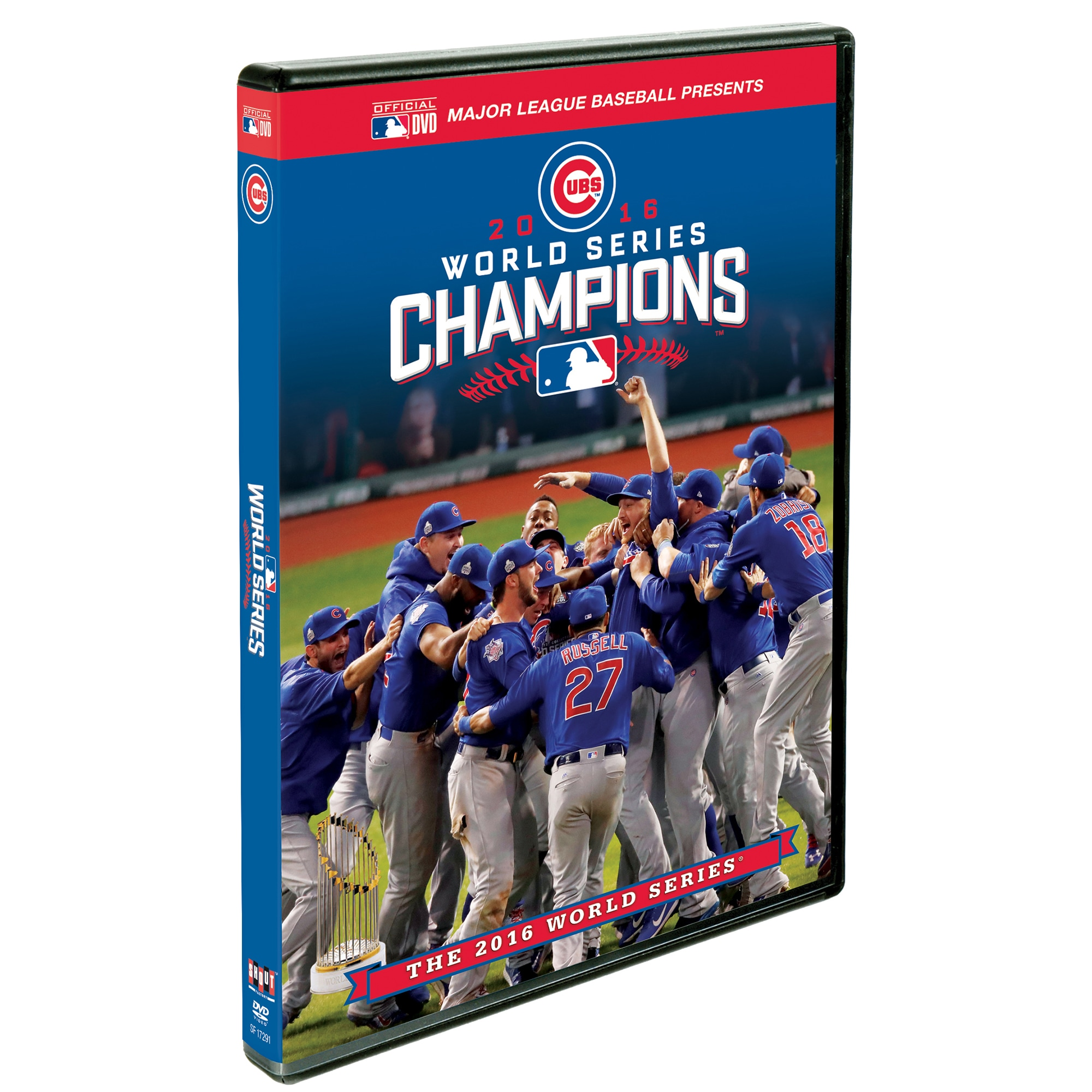 Chicago Cubs 2016 World Series Champions Commemorative DVD