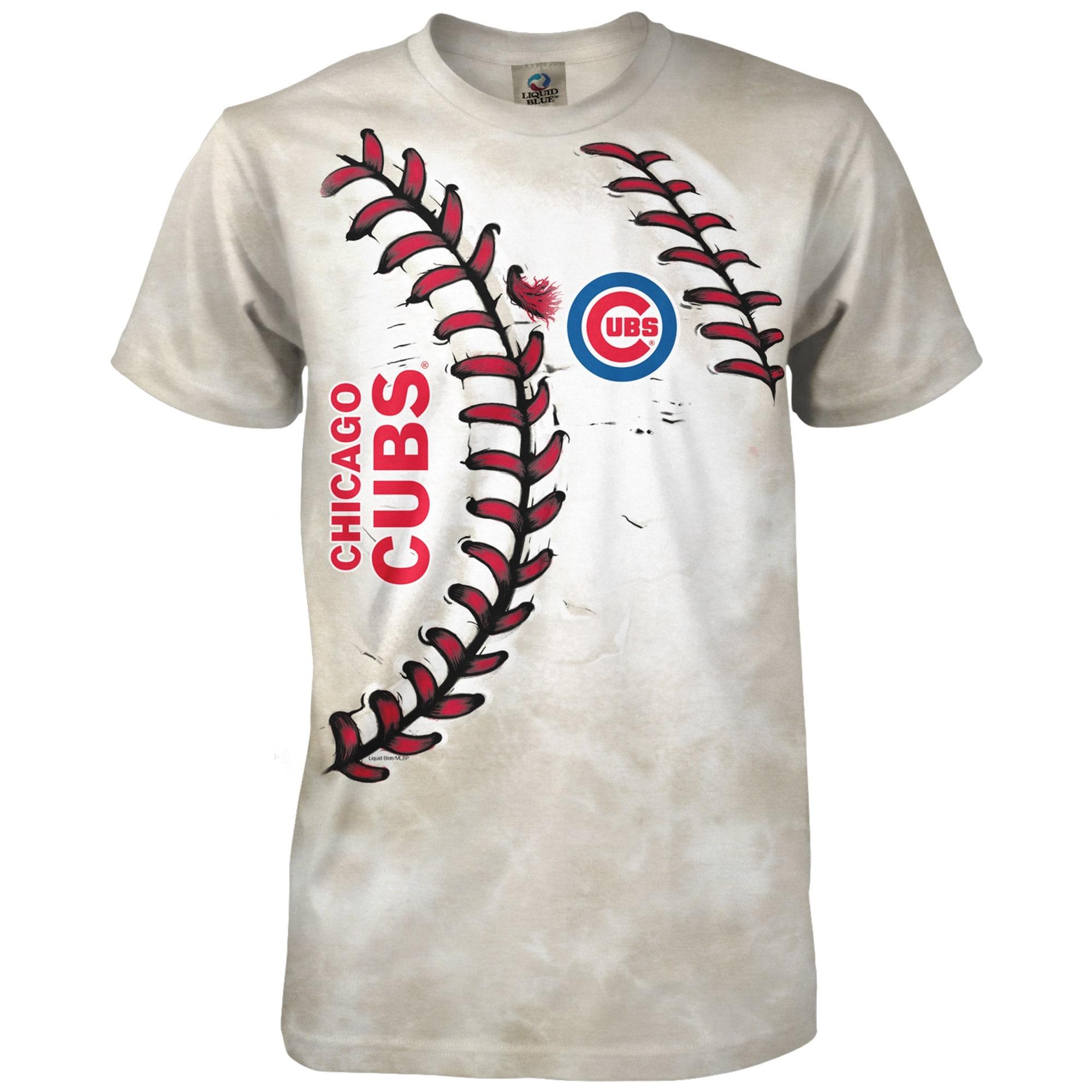 Chicago Cubs Youth Hardball T-Shirt - Cream