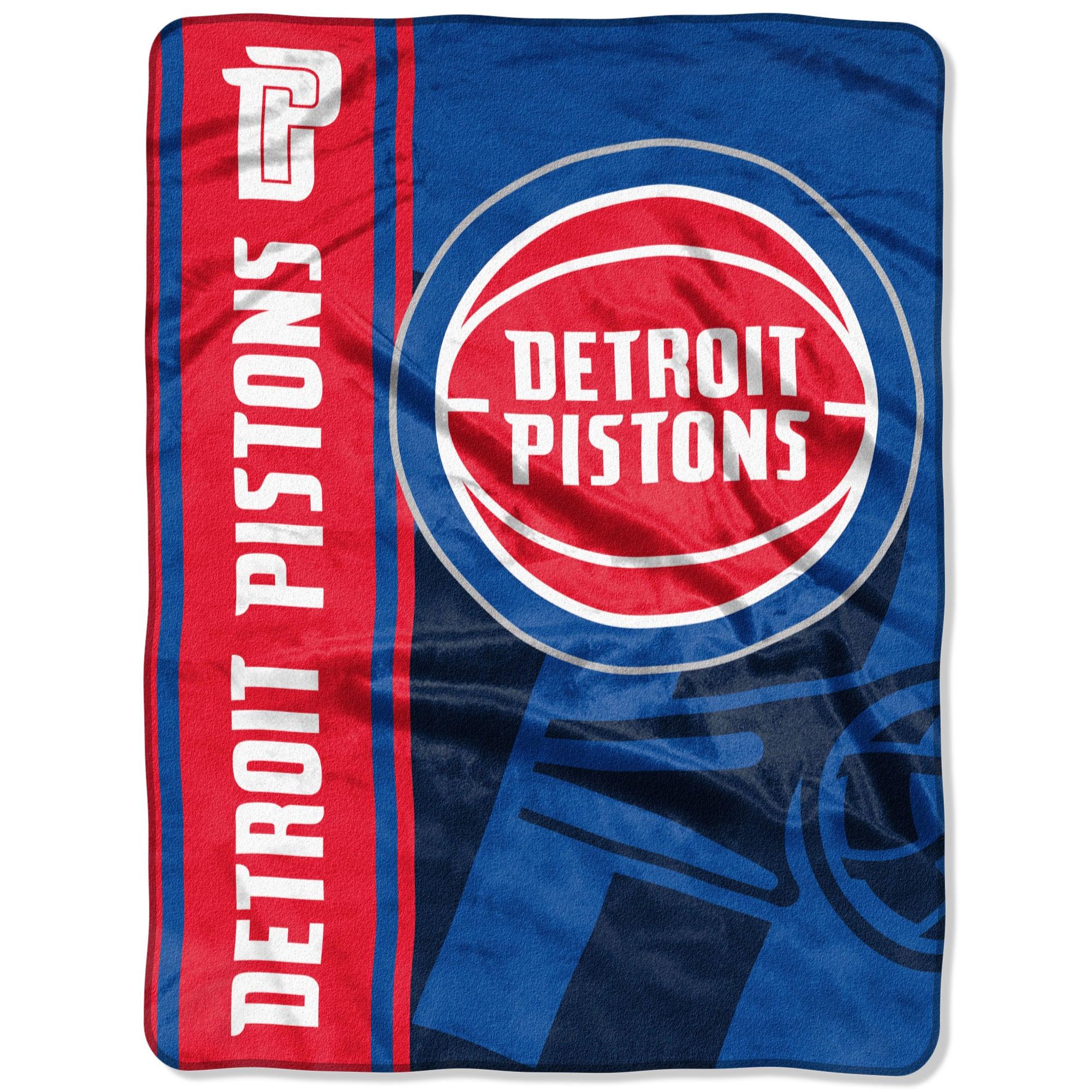 "Detroit Pistons The Northwest Company Hooper 60"" x 80"" Oversized Raschel Throw Blanket"