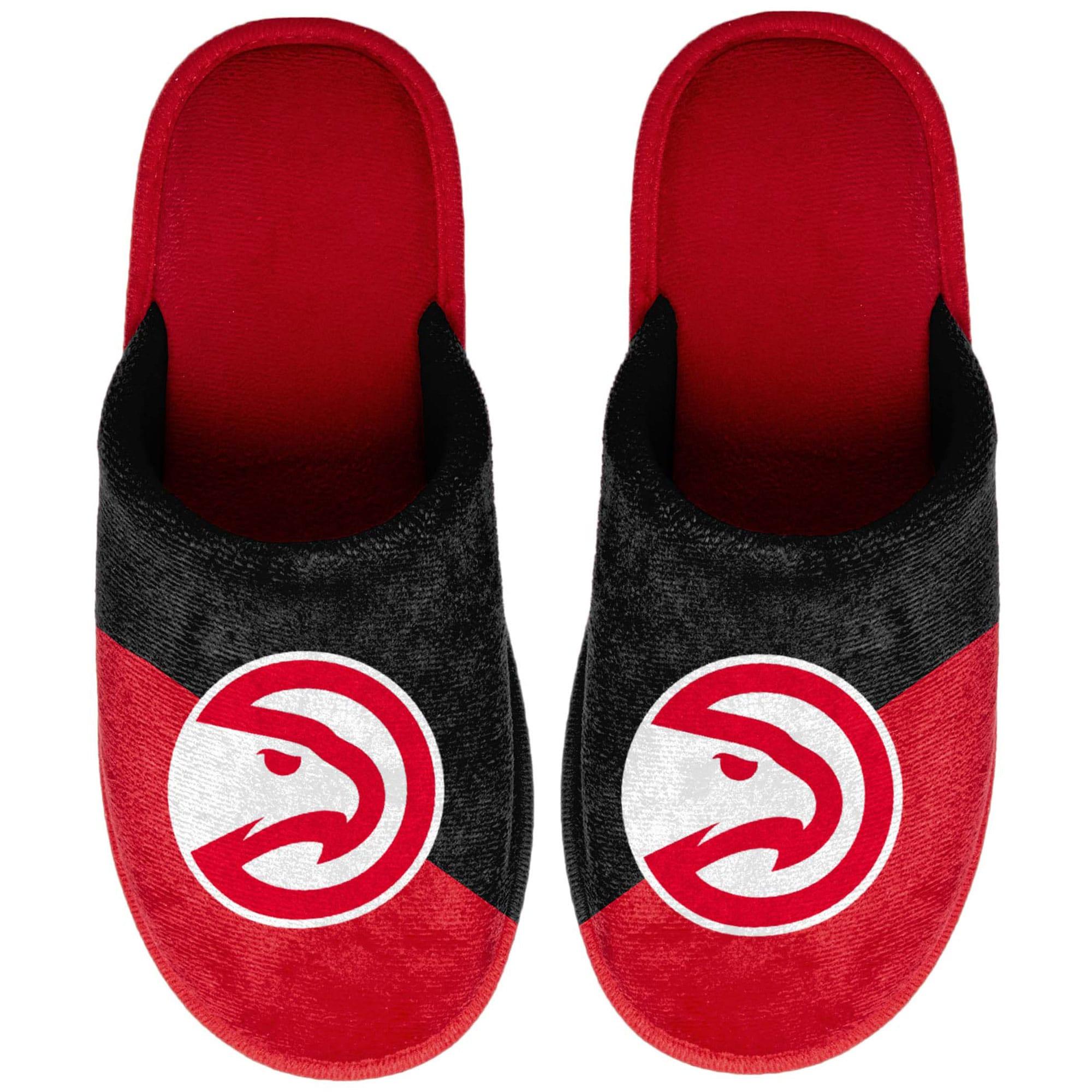 Atlanta Hawks Big Logo Scuff Slippers