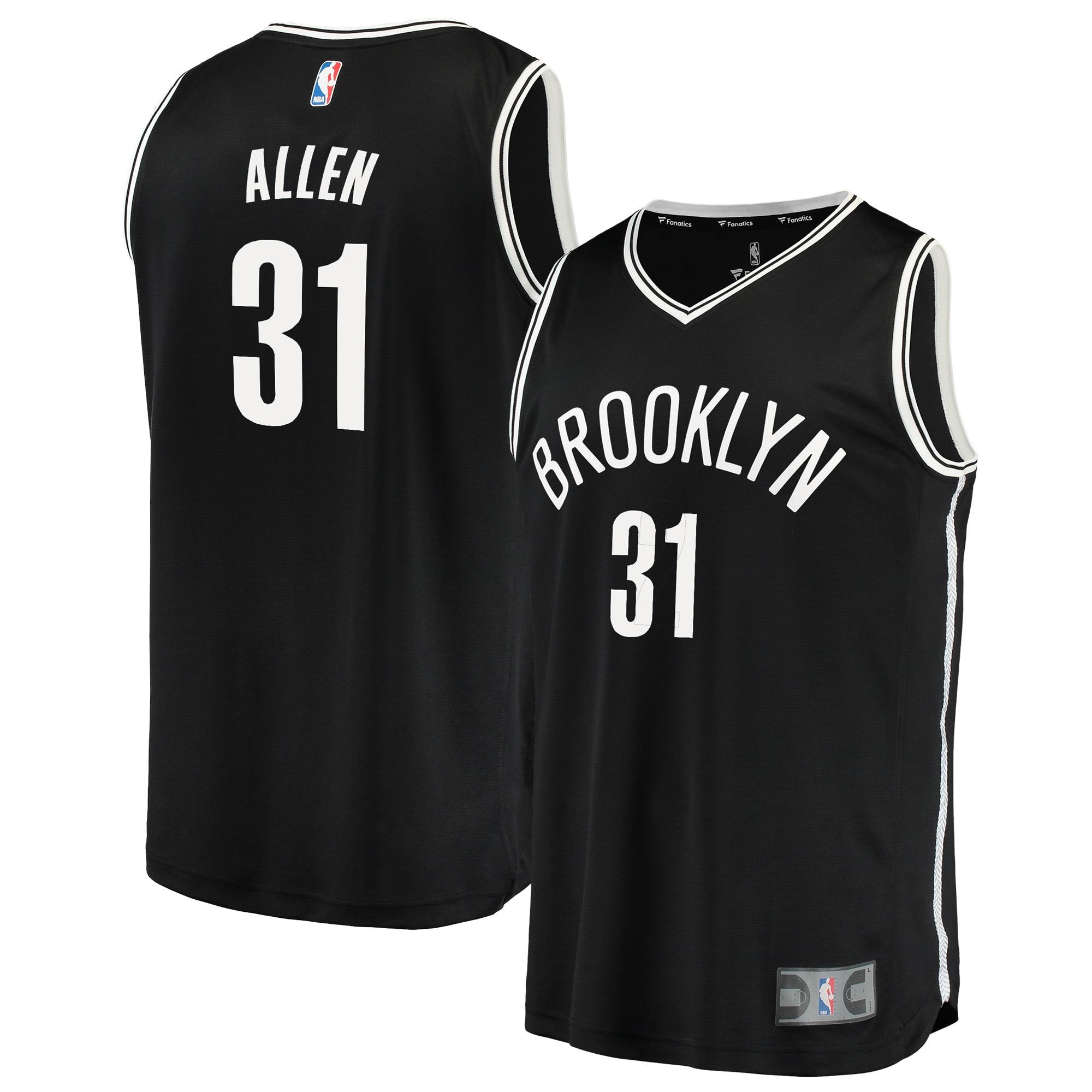 Brooklyn Nets Jarrett Allen Fanatics Branded Youth Fast Break Player Jersey - Icon Edition - Black