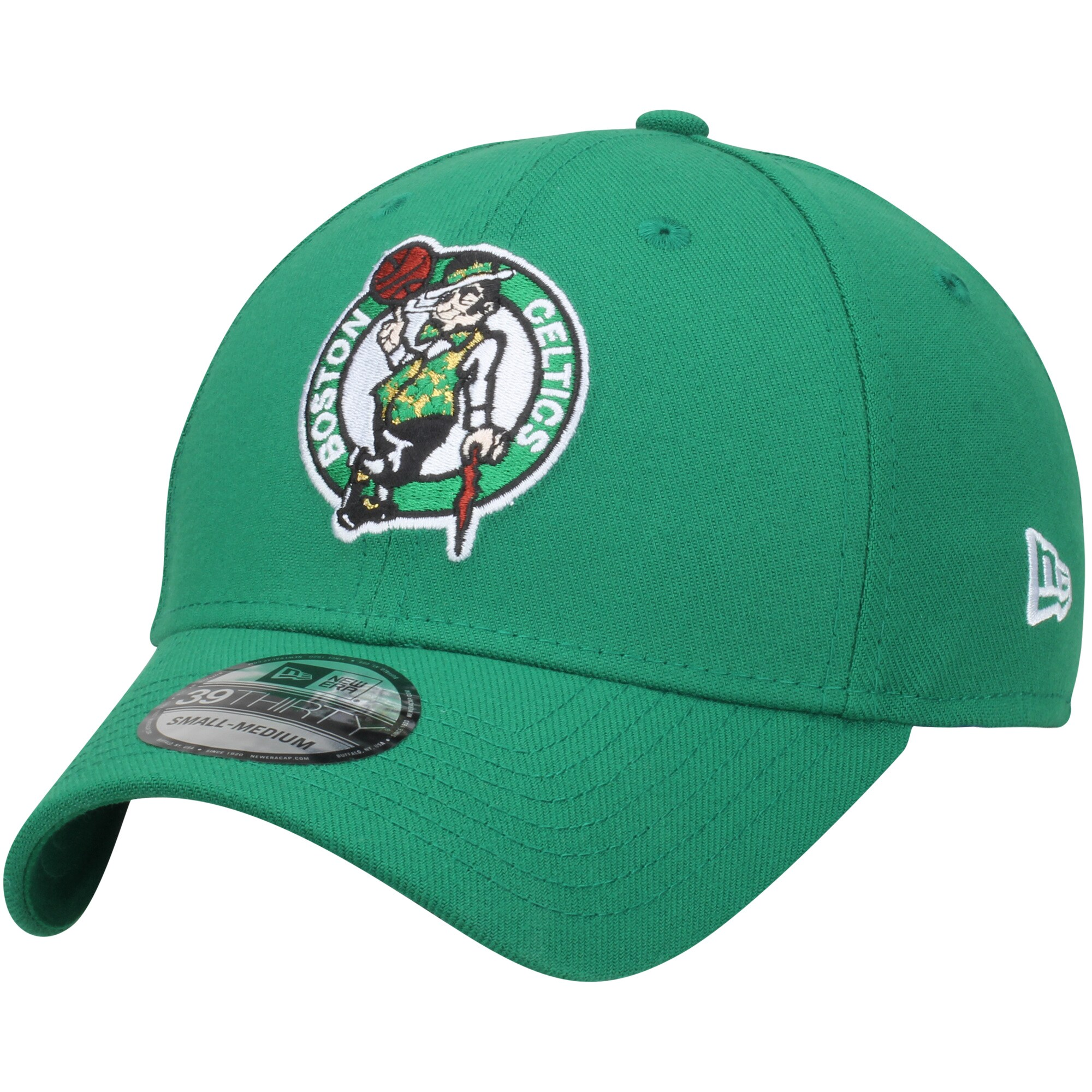 Boston Celtics New Era Team Classic 39THIRTY Flex Hat - Kelly Green