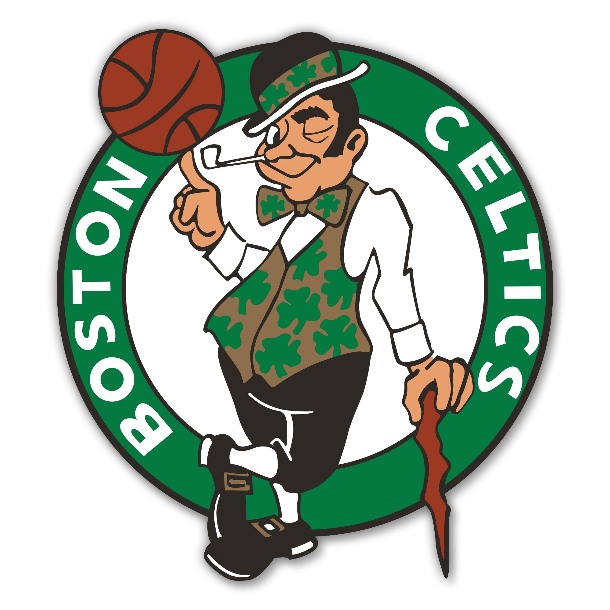 Boston Celtics 12'' Spirit Size Laser-Cut Steel Logo Wall Art