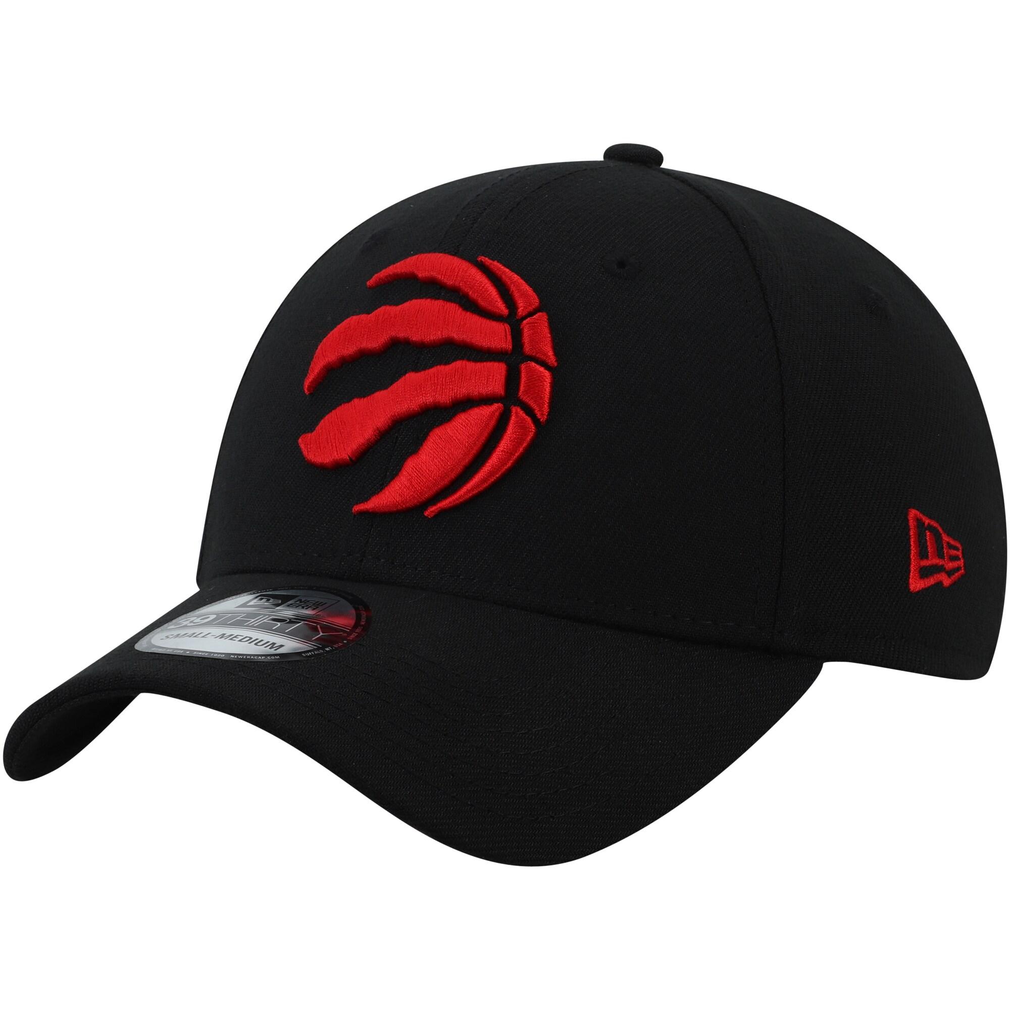 Toronto Raptors New Era Team Classic 39THIRTY Flex Hat - Black