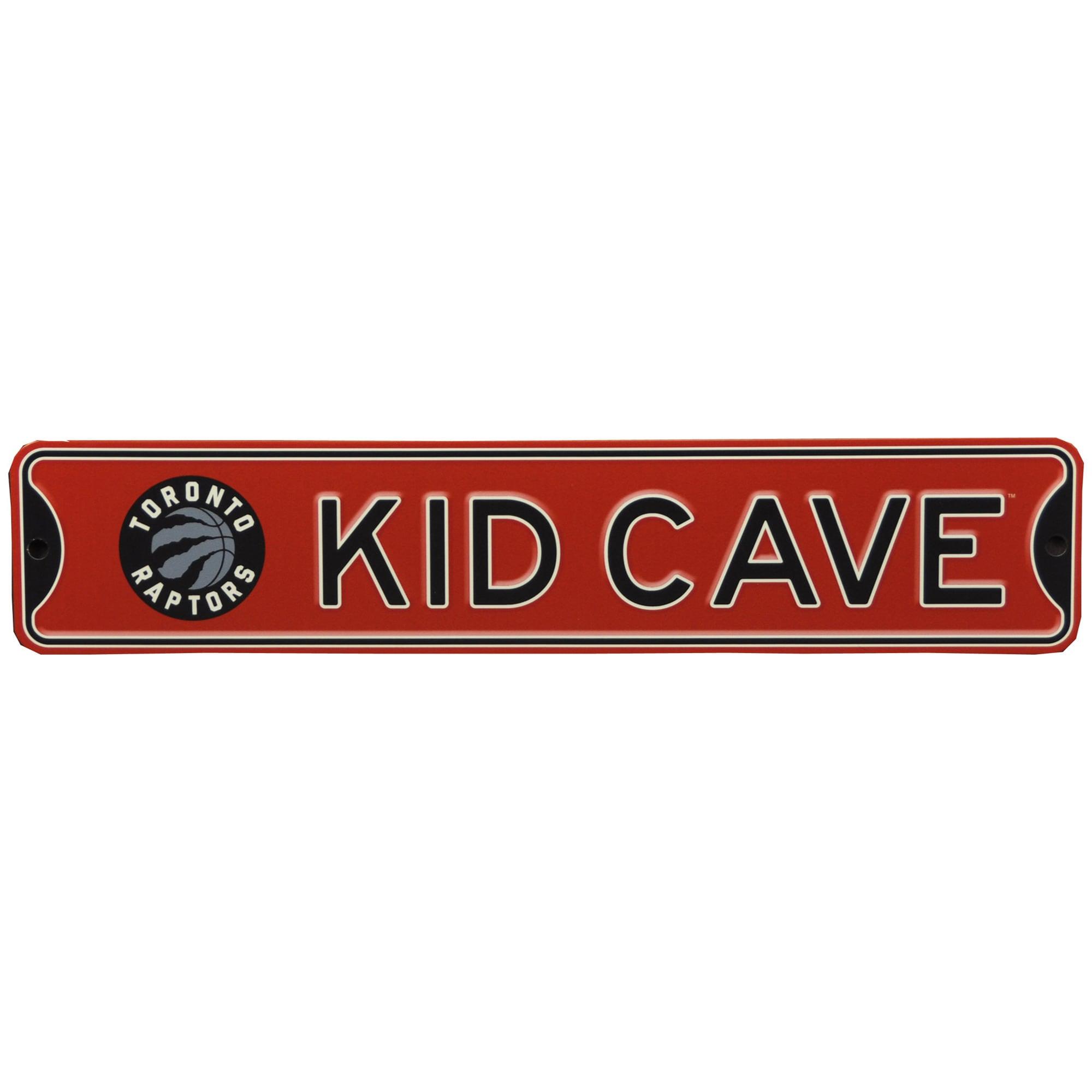 Toronto Raptors 16'' Mini Steel Kid Cave Street Sign