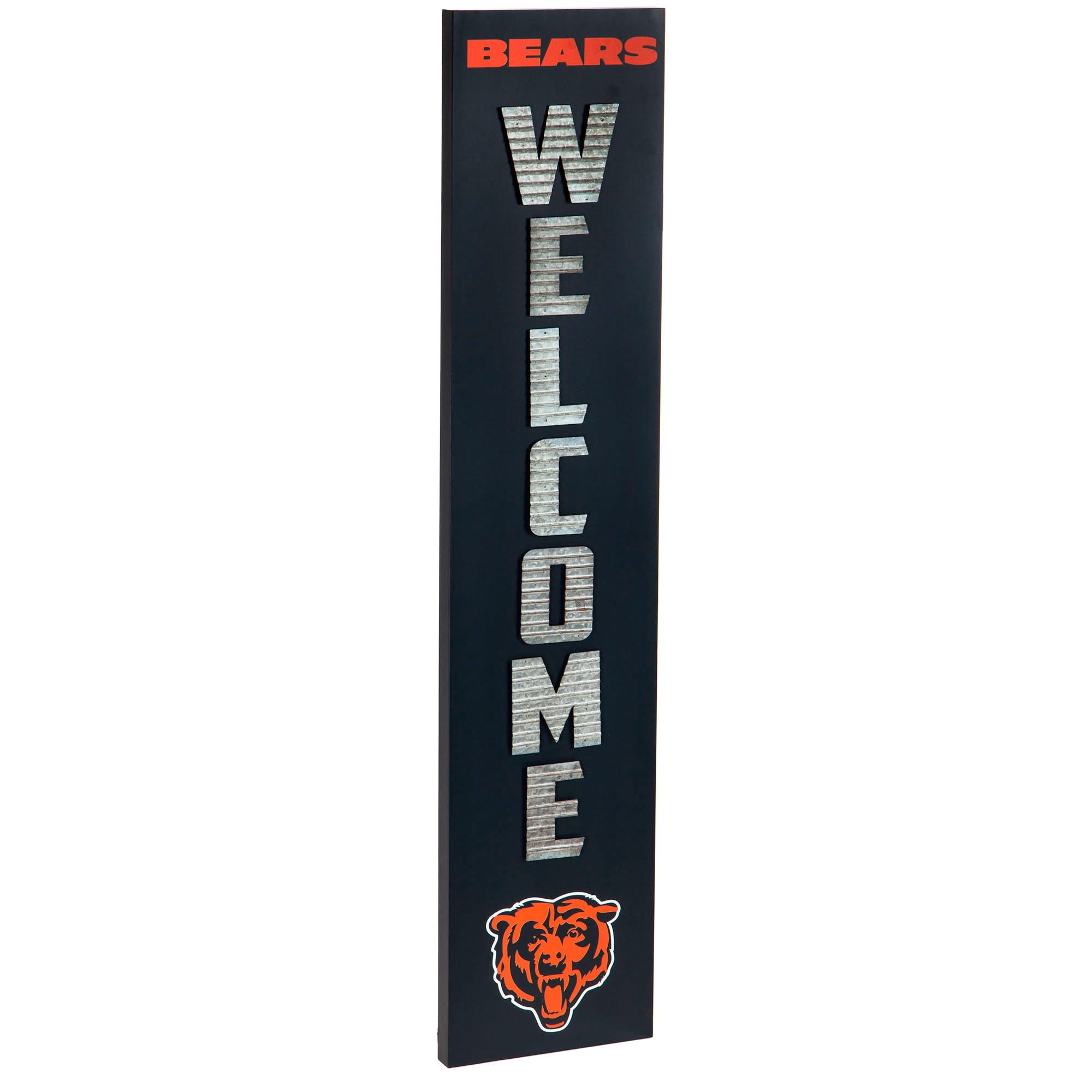 Chicago Bears Porch Leaner