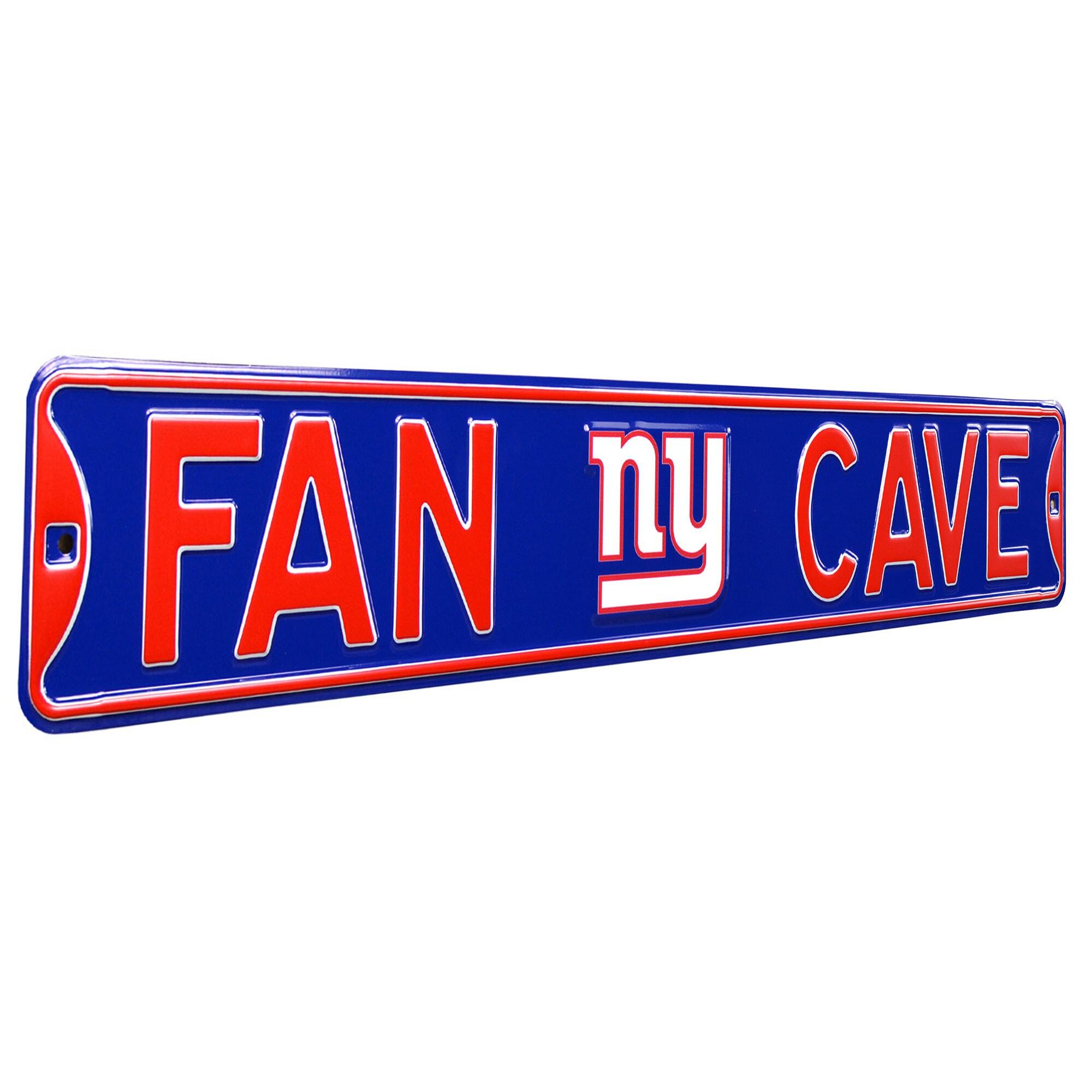 New York Giants Steel Street Sign