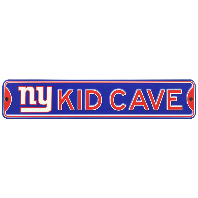 New York Giants 16'' Mini Steel Kid Cave Street Sign