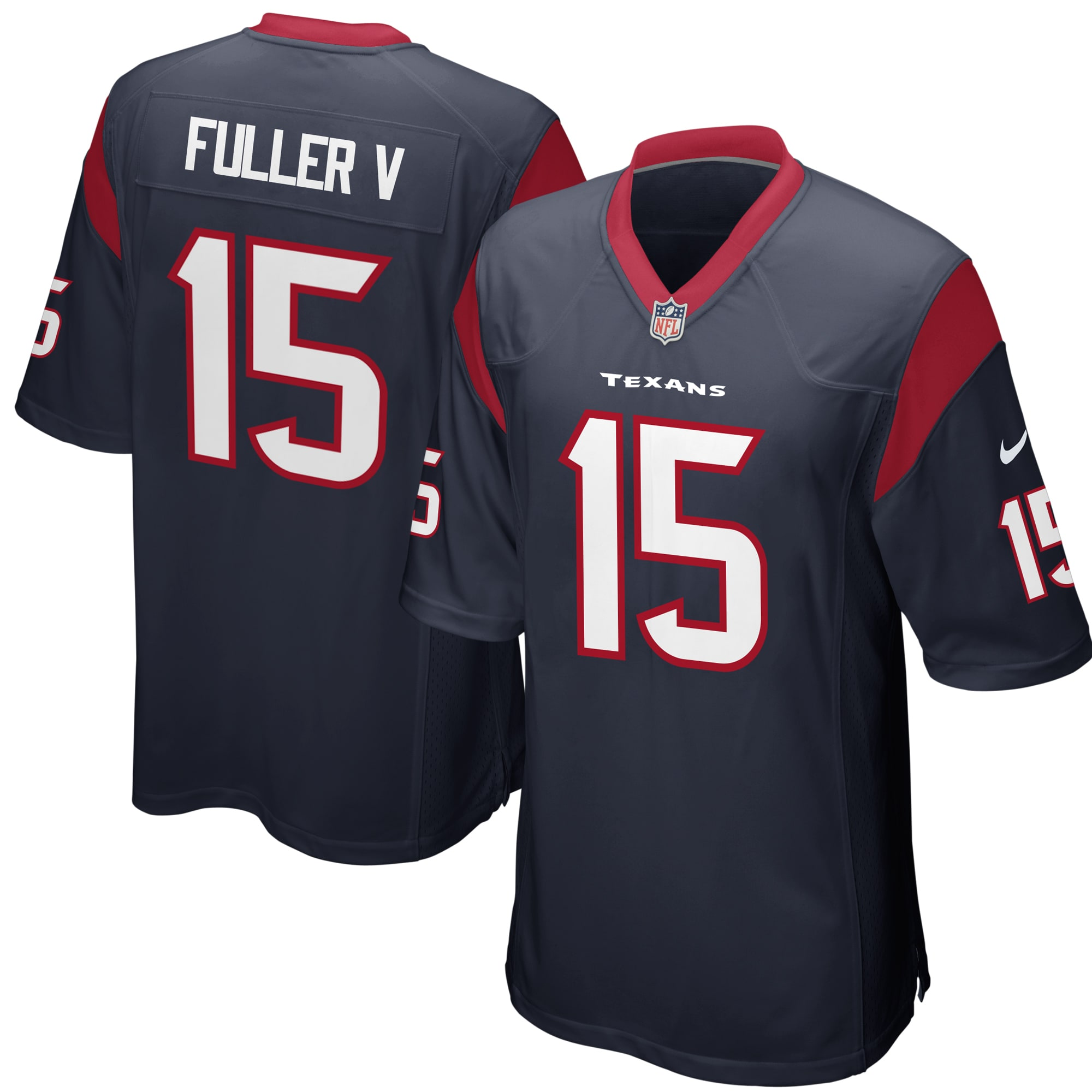 Will Fuller Houston Texans Nike Youth Game Jersey - Navy
