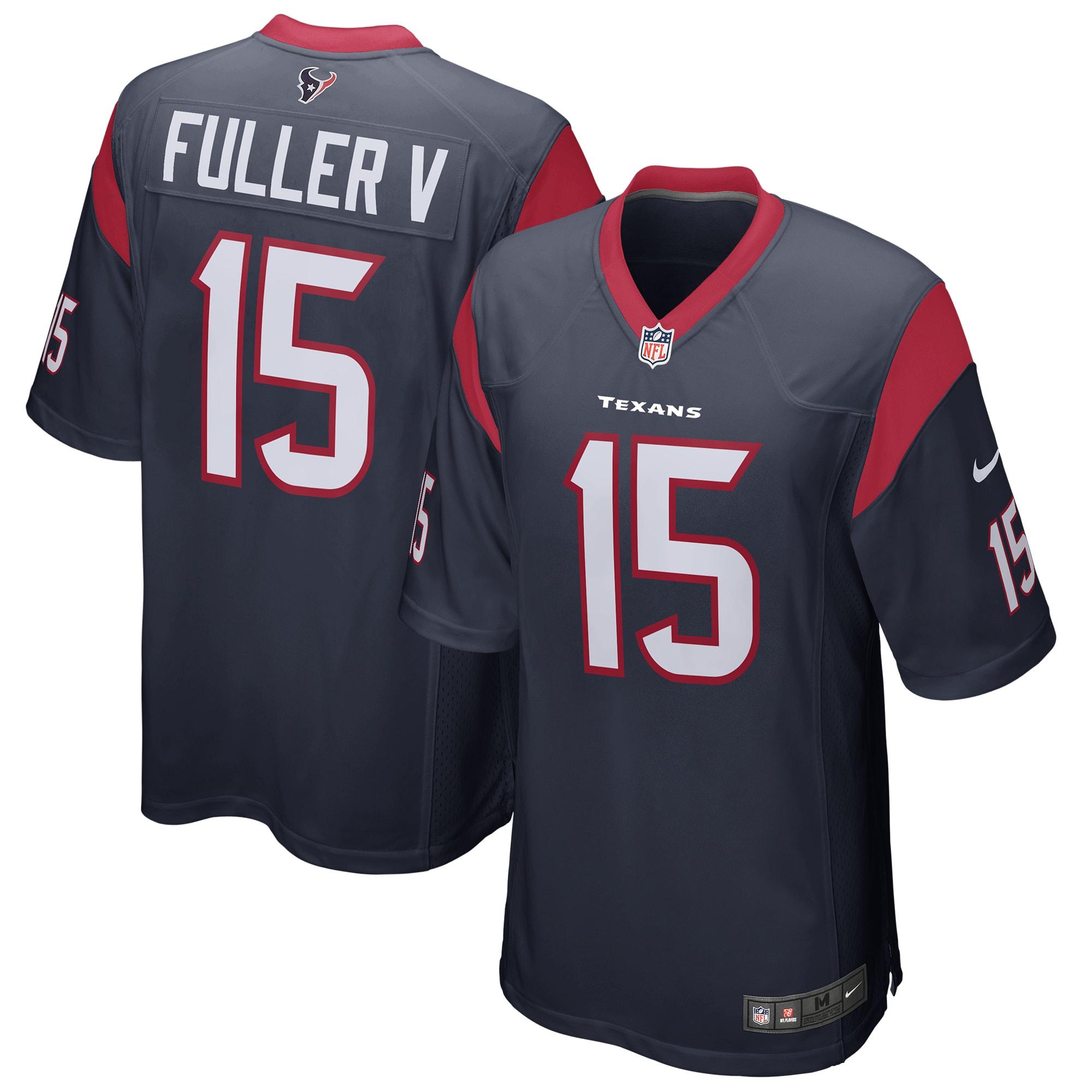 Will Fuller Houston Texans Nike Game Jersey - Navy