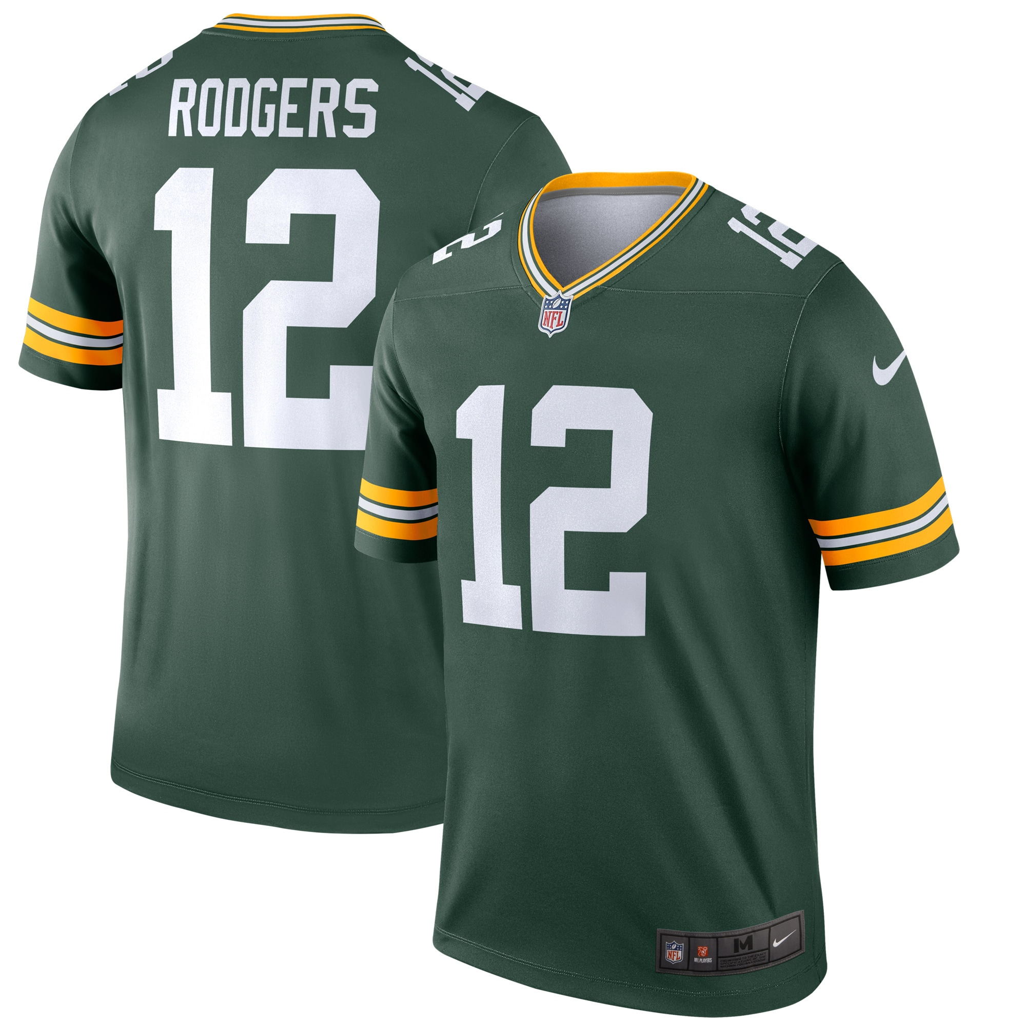 Aaron Rodgers Green Bay Packers Nike Legend Jersey - Green