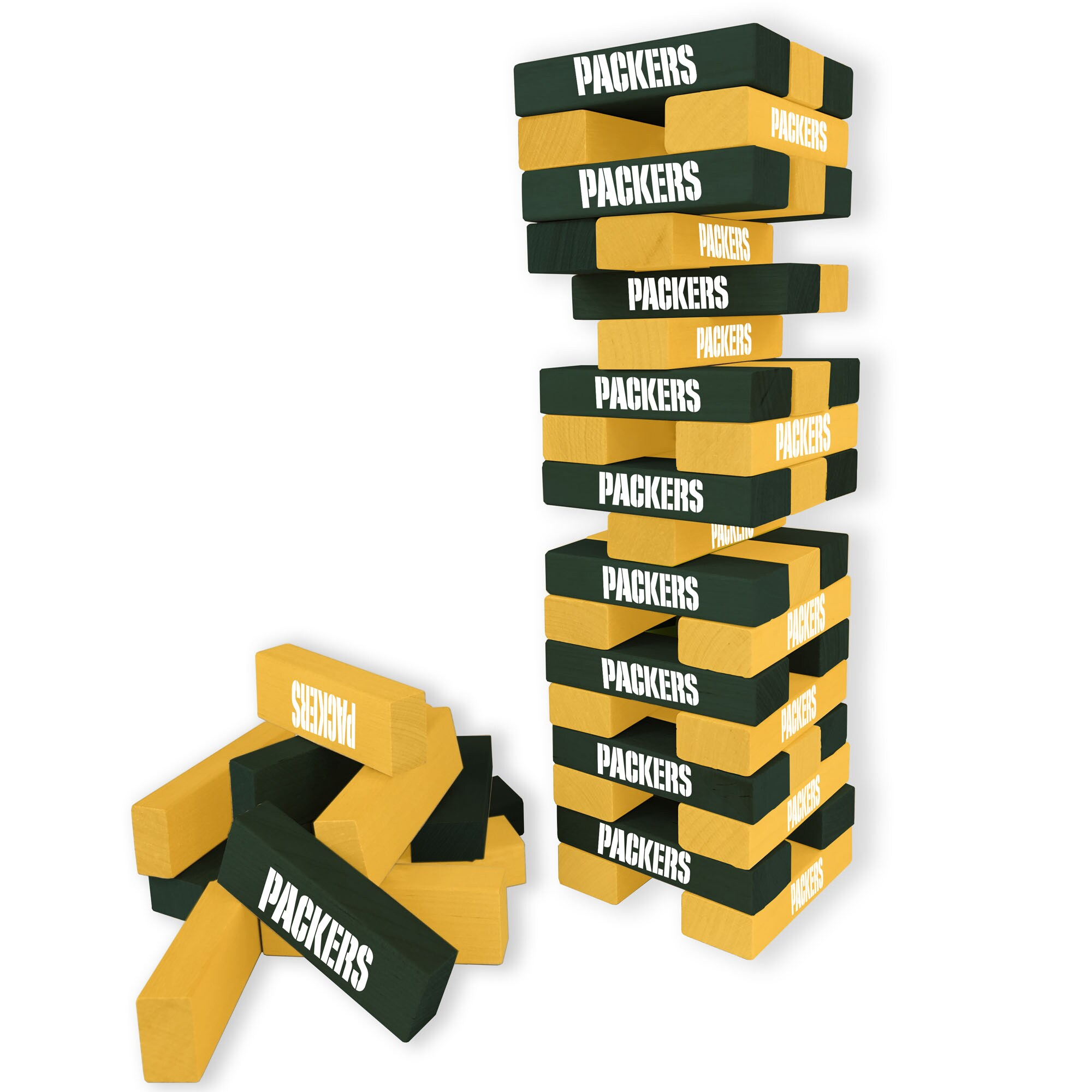 Green Bay Packers Wooden Table Top Stackers