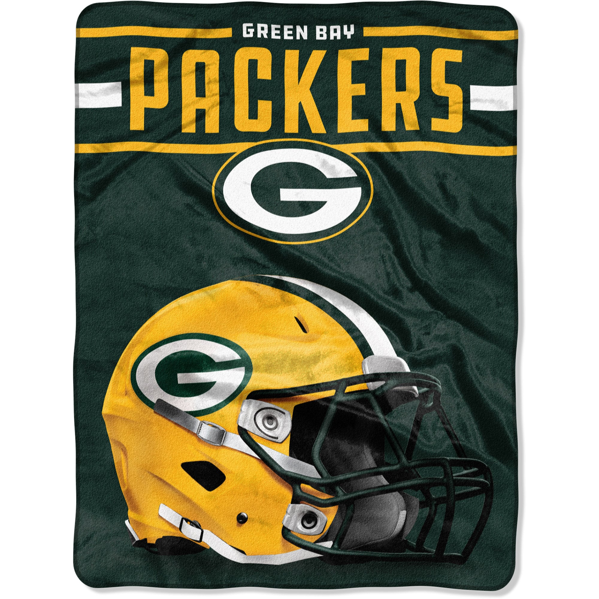 "Green Bay Packers The Northwest Company 60"" x 80"" Jet Sweep Silk Touch Throw Blanket"