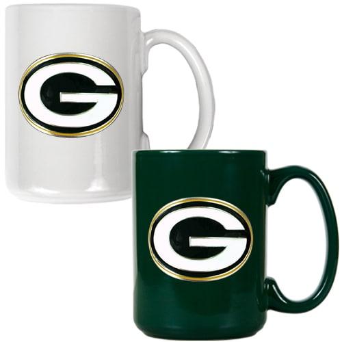 Green Bay Packers 15oz. Coffee Mug Set