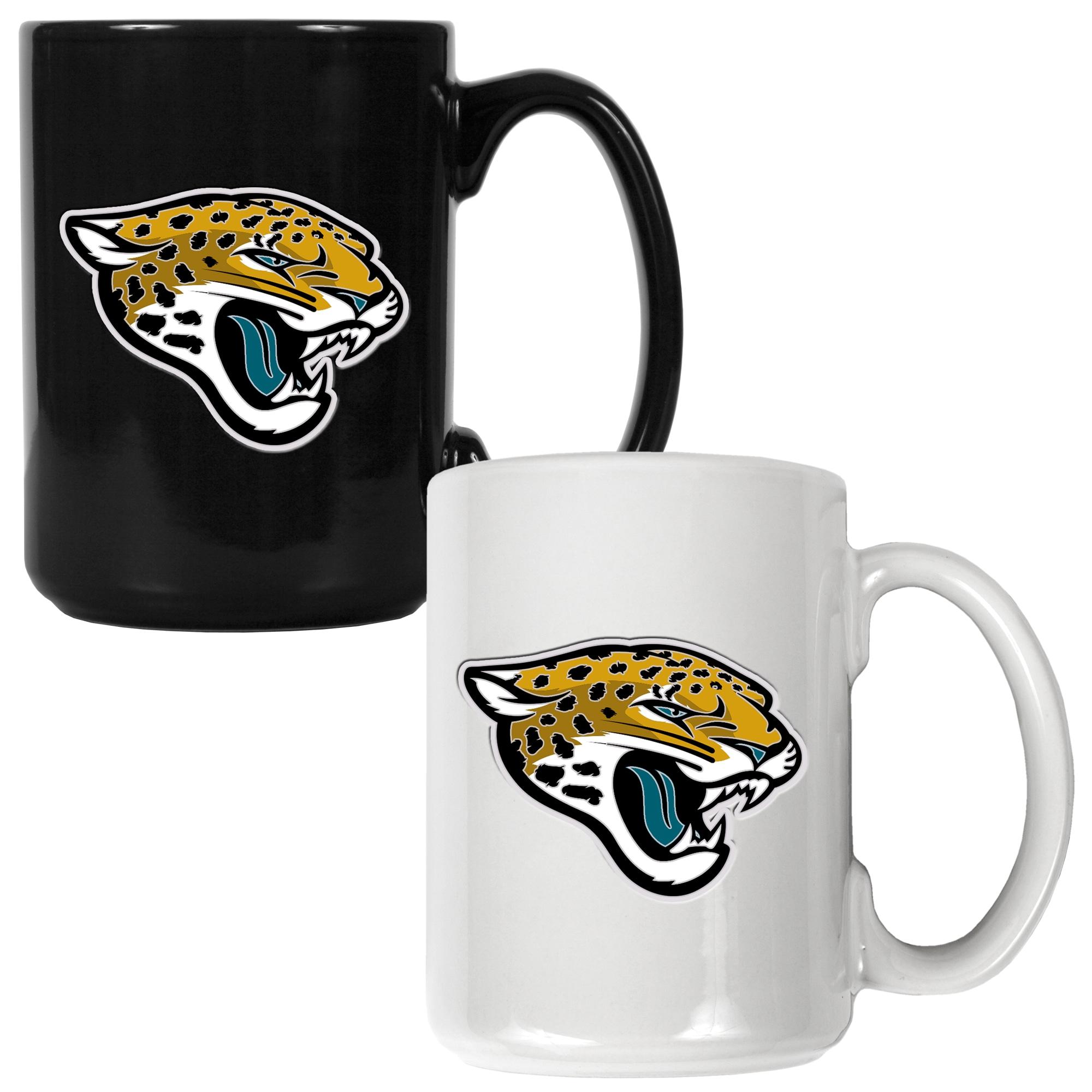 Jacksonville Jaguars 15oz. Coffee Mug Set