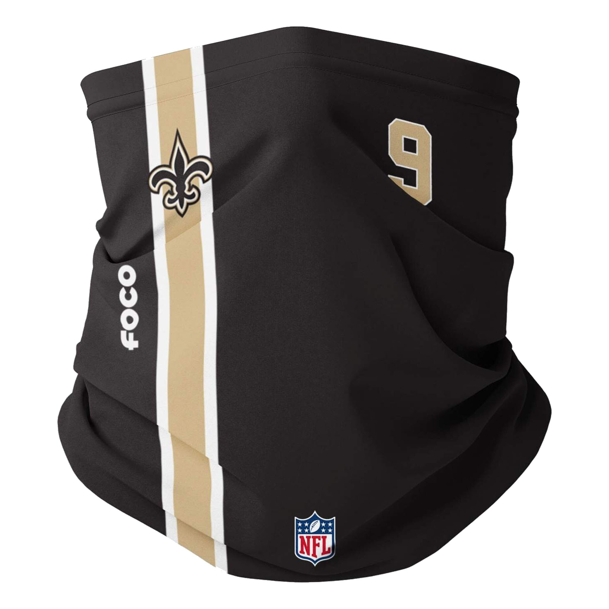 Drew Brees New Orleans Saints FOCO Adult On-Field Player Neck Gaiter