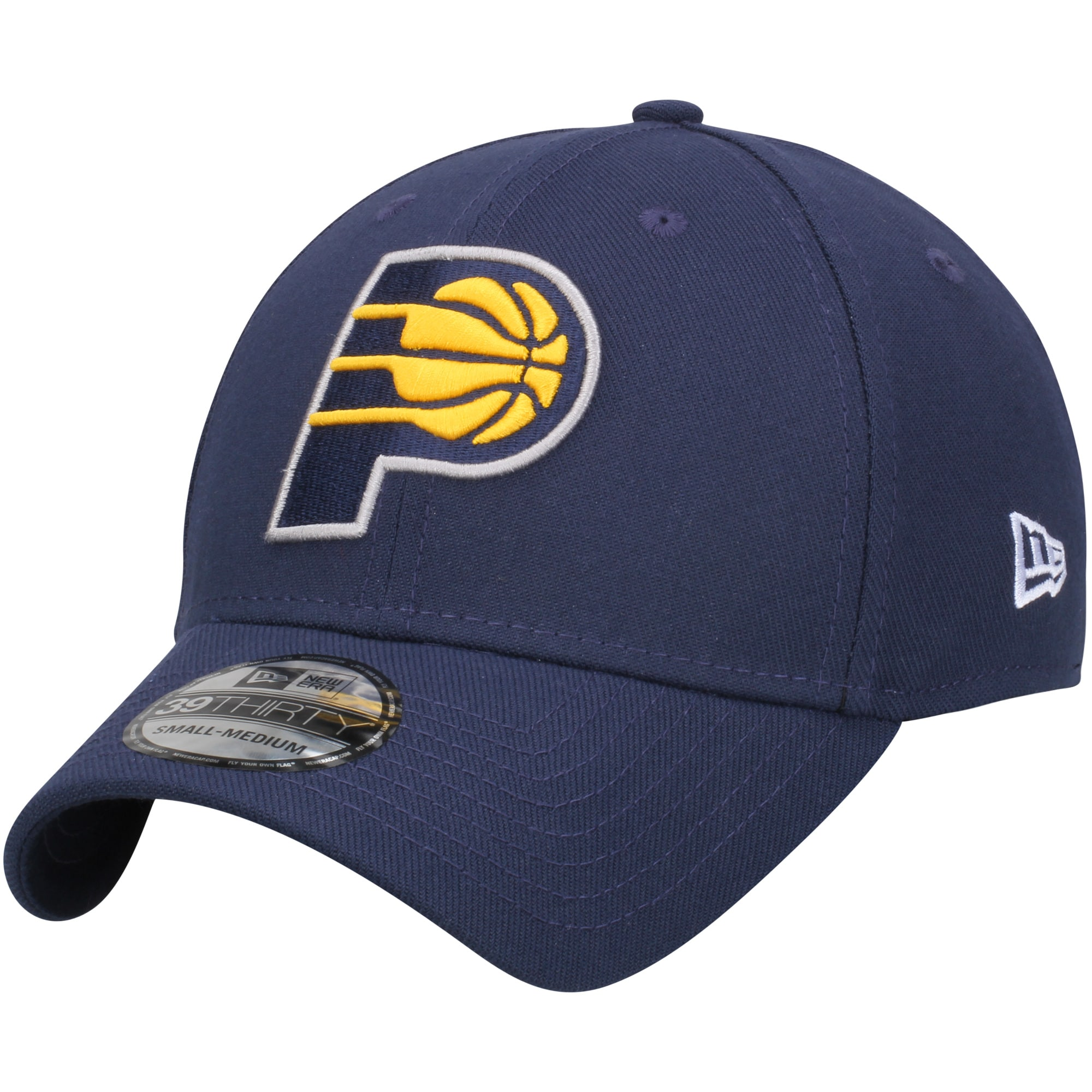 Indiana Pacers New Era Team Classic 39THIRTY Flex Hat - Navy