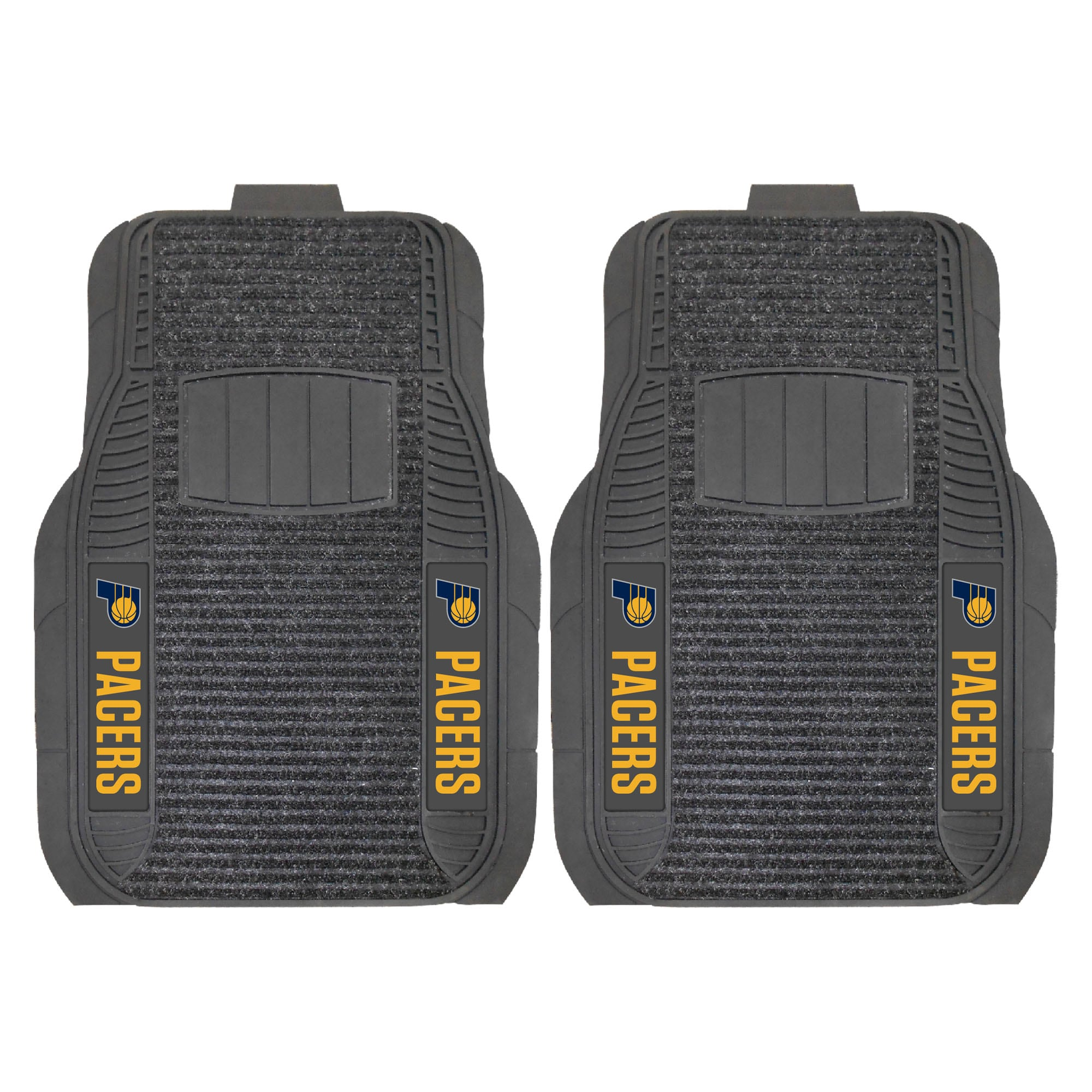 Indiana Pacers 2-Piece Deluxe Car Mat Set