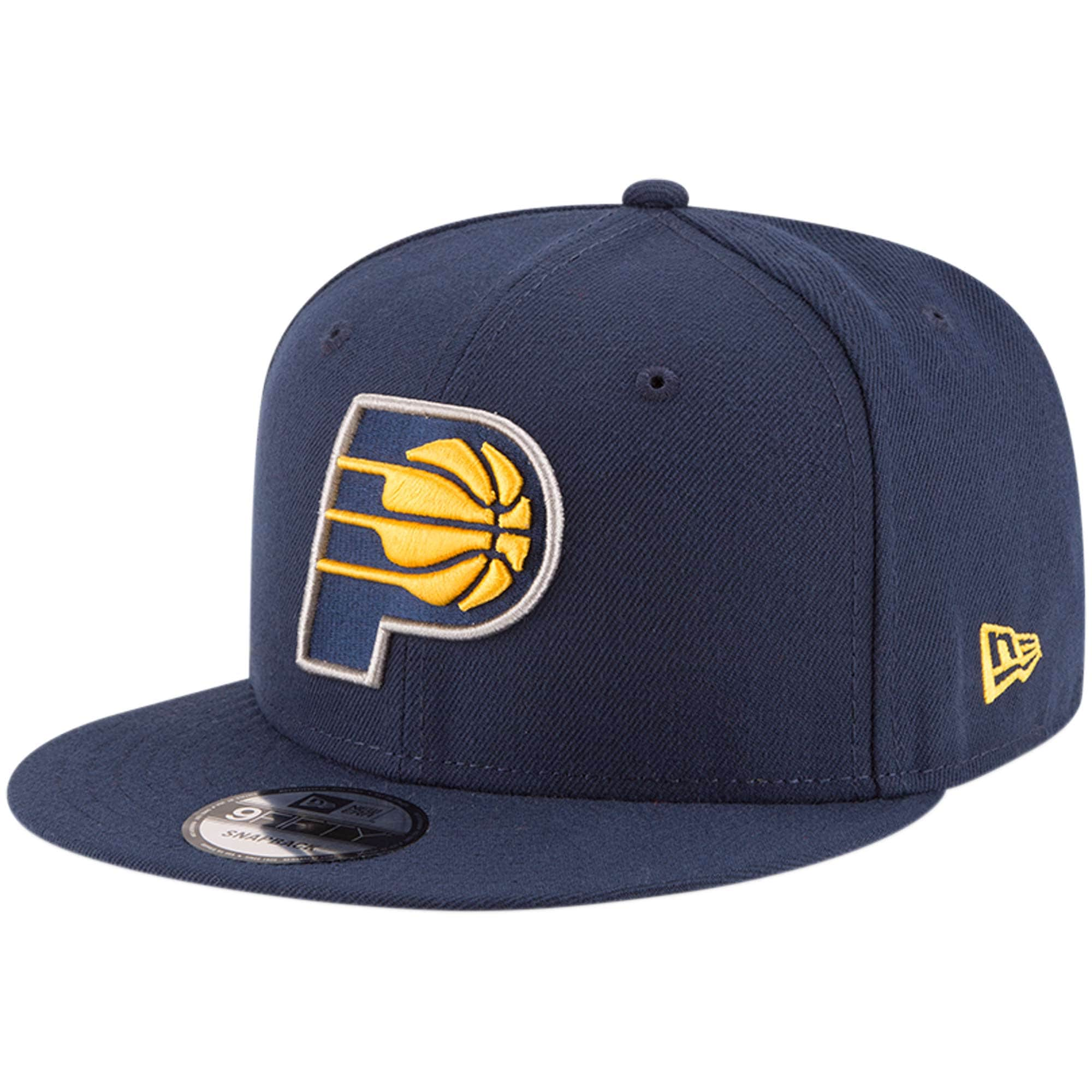 Indiana Pacers New Era Official Team Color 9FIFTY Adjustable Snapback Hat - Navy