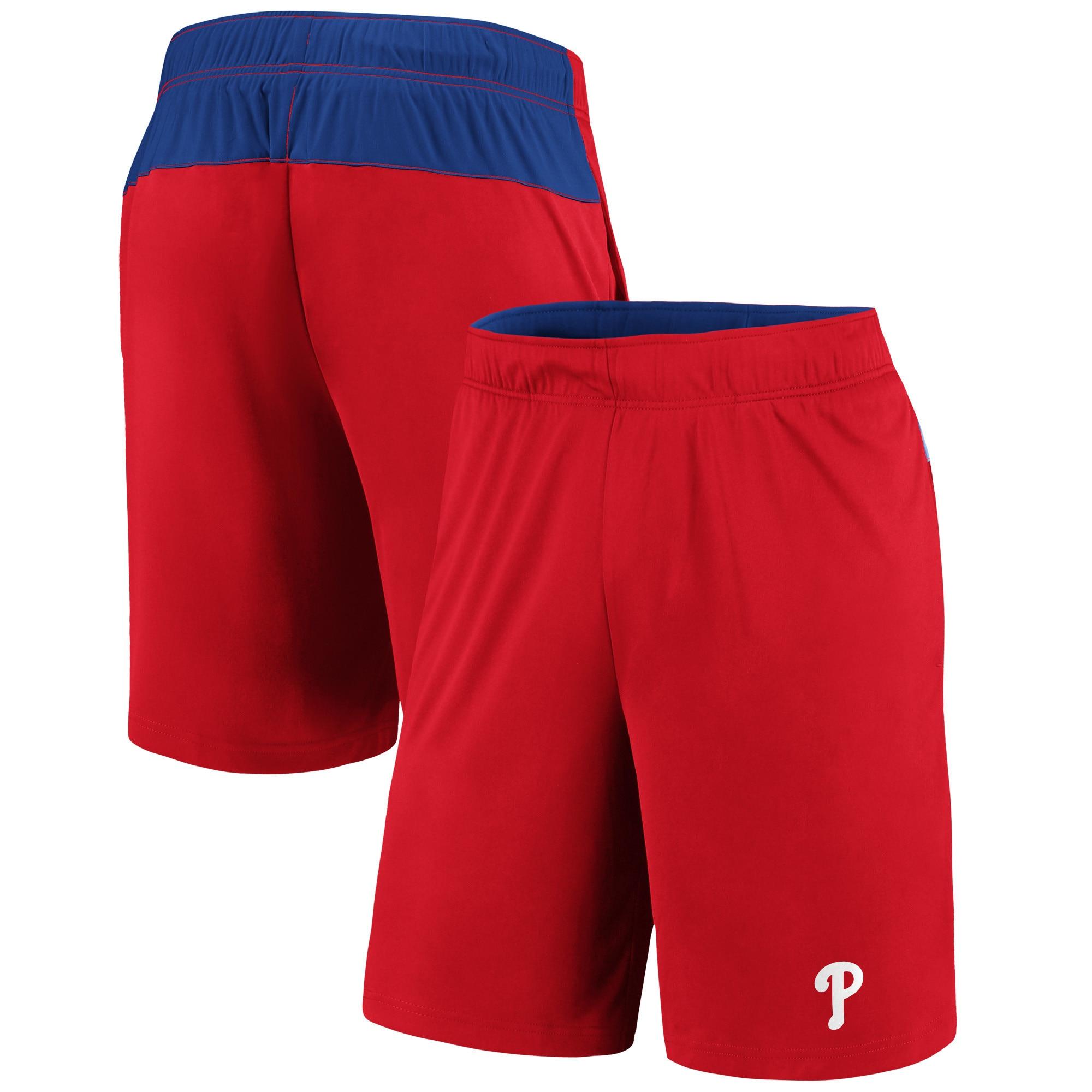 Philadelphia Phillies Fanatics Branded Primary Logo Shorts - Red