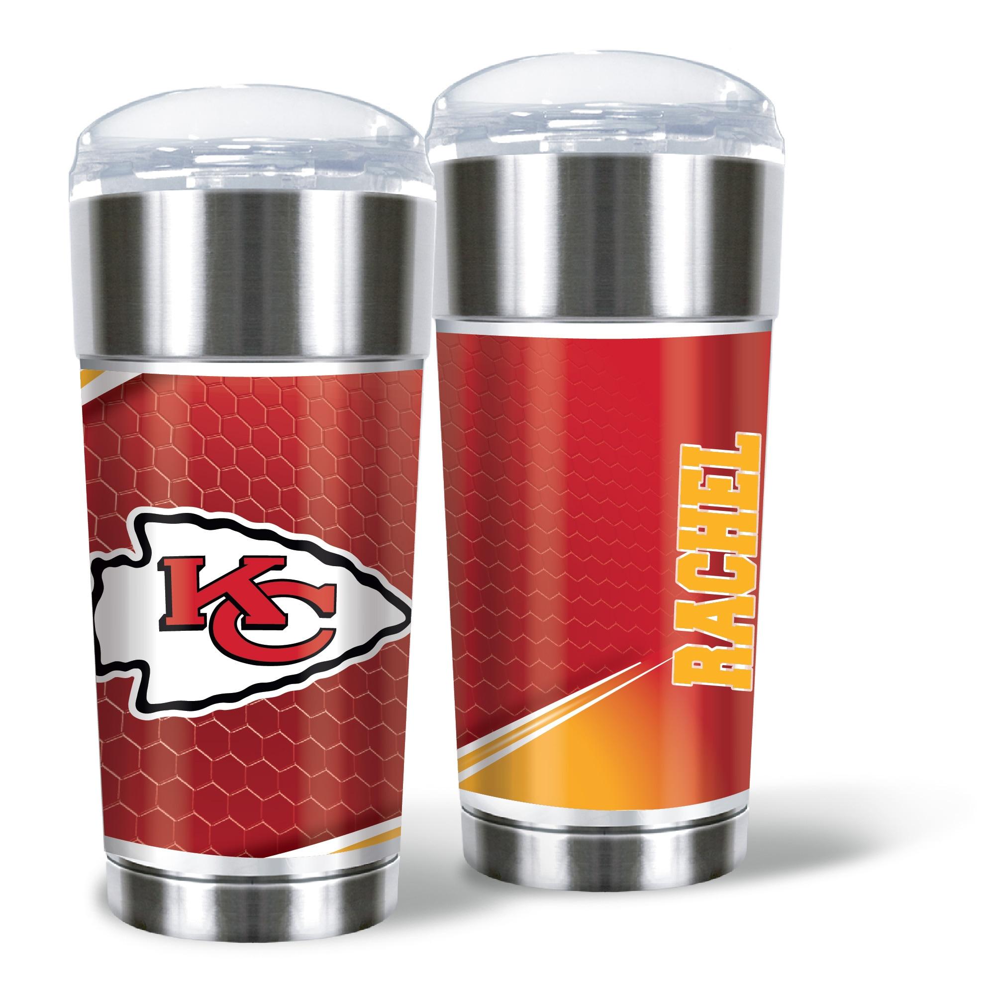 Kansas City Chiefs 24oz. Personalized Eagle Tumbler