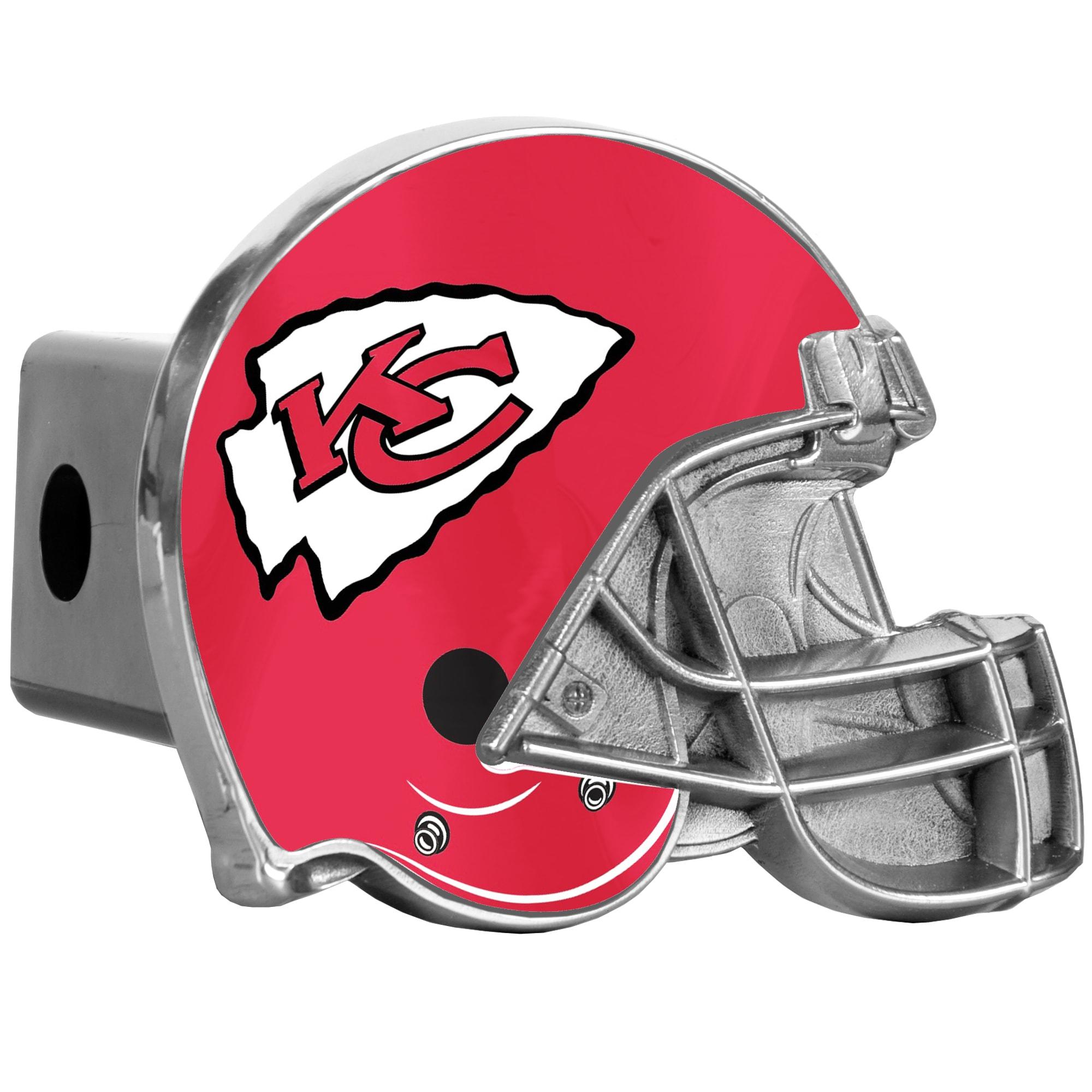 Kansas City Chiefs Helmet Hitch Cover