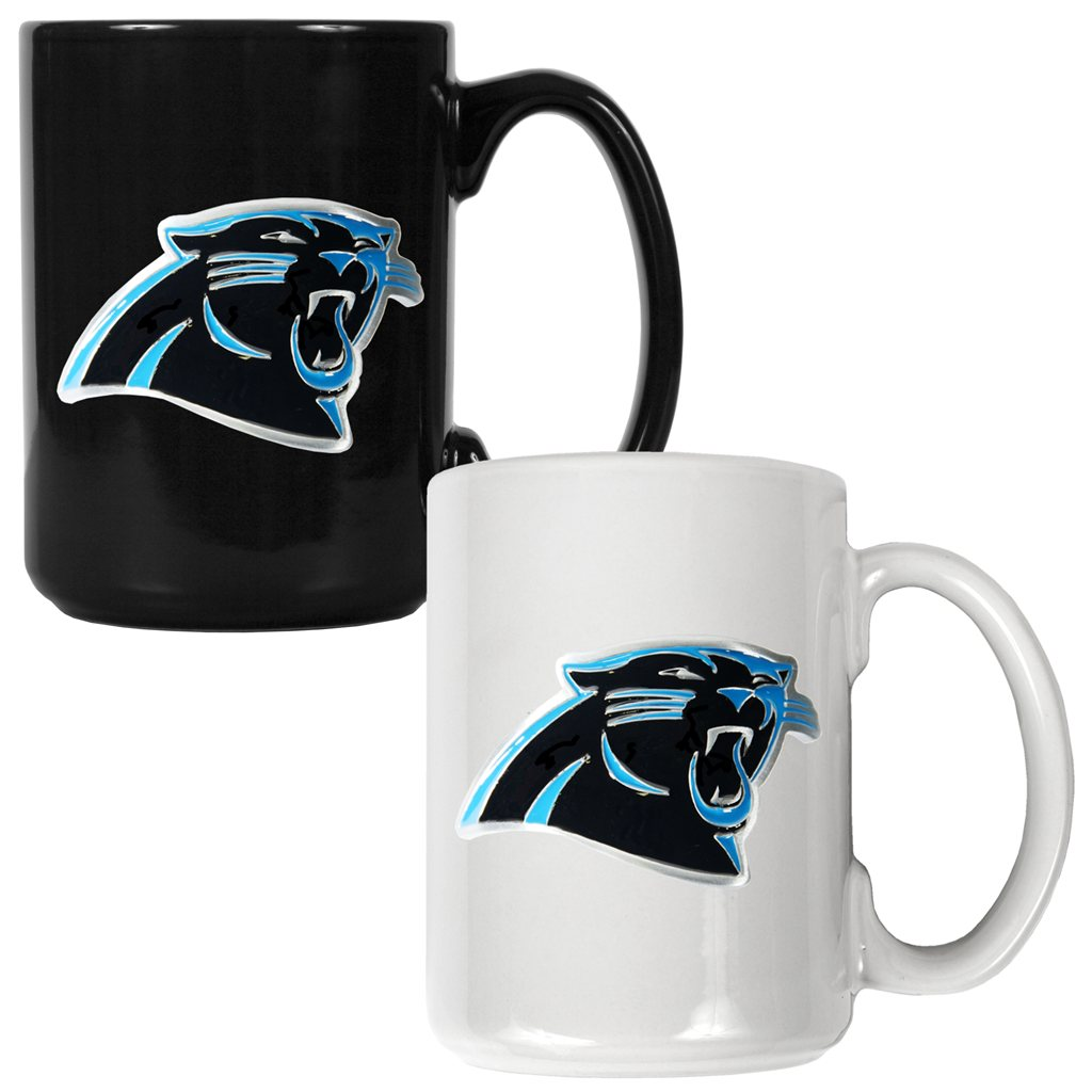 Carolina Panthers 15oz. Coffee Mug Set