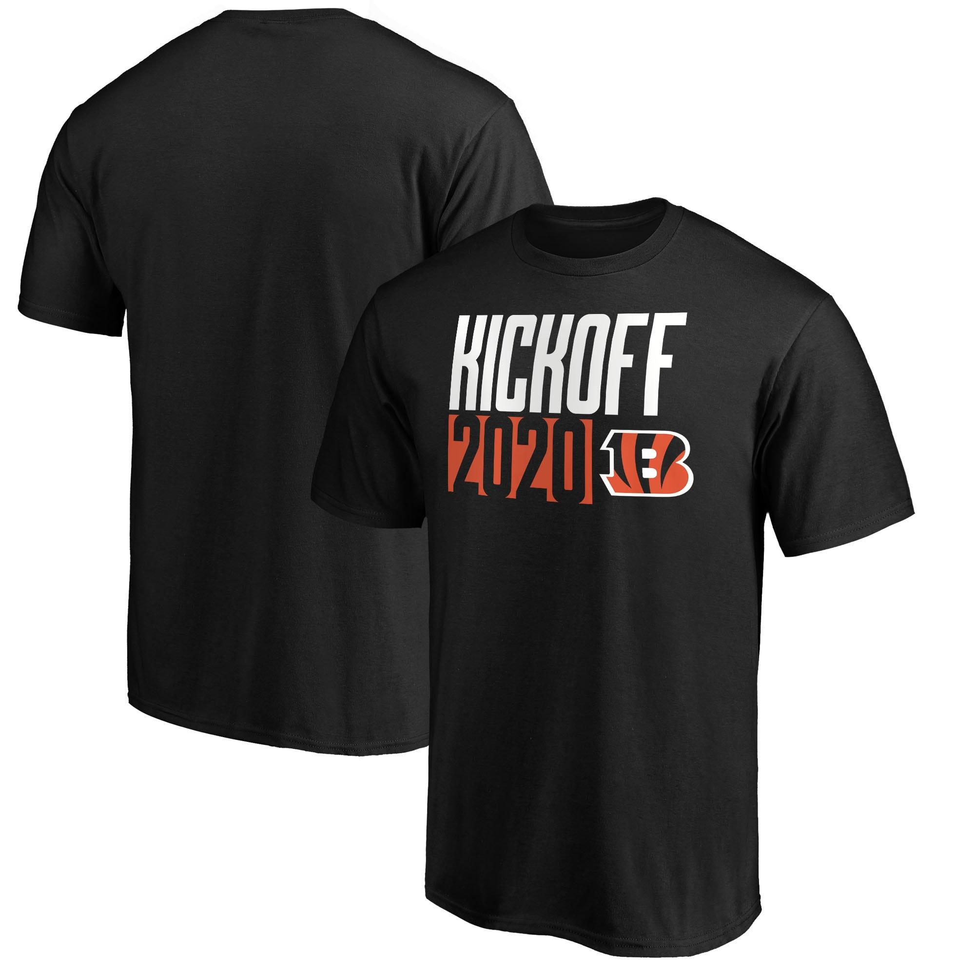 Cincinnati Bengals Fanatics Branded Kickoff 2020 T-Shirt - Black