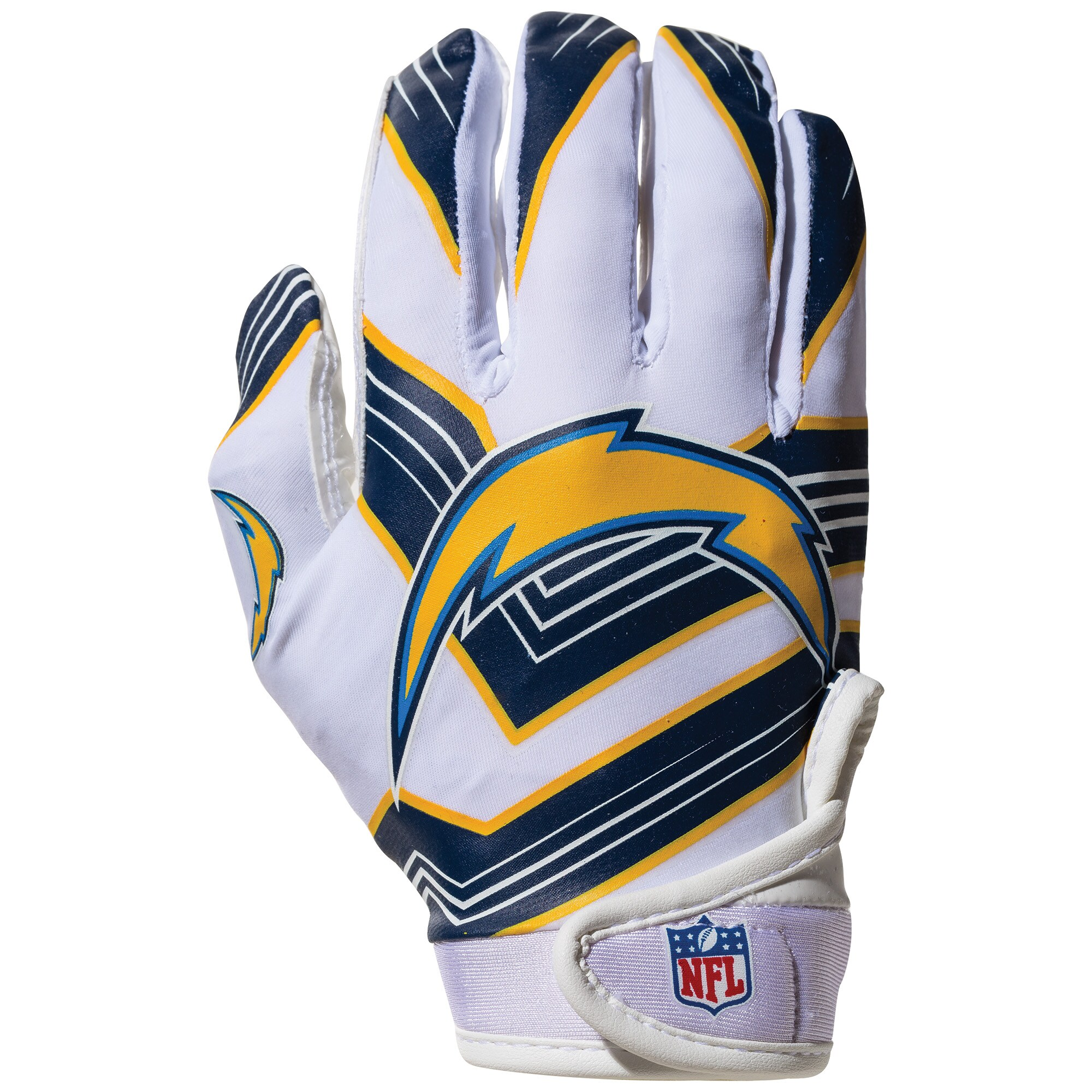 Los Angeles Chargers Franklin Sports Youth Receiver Gloves