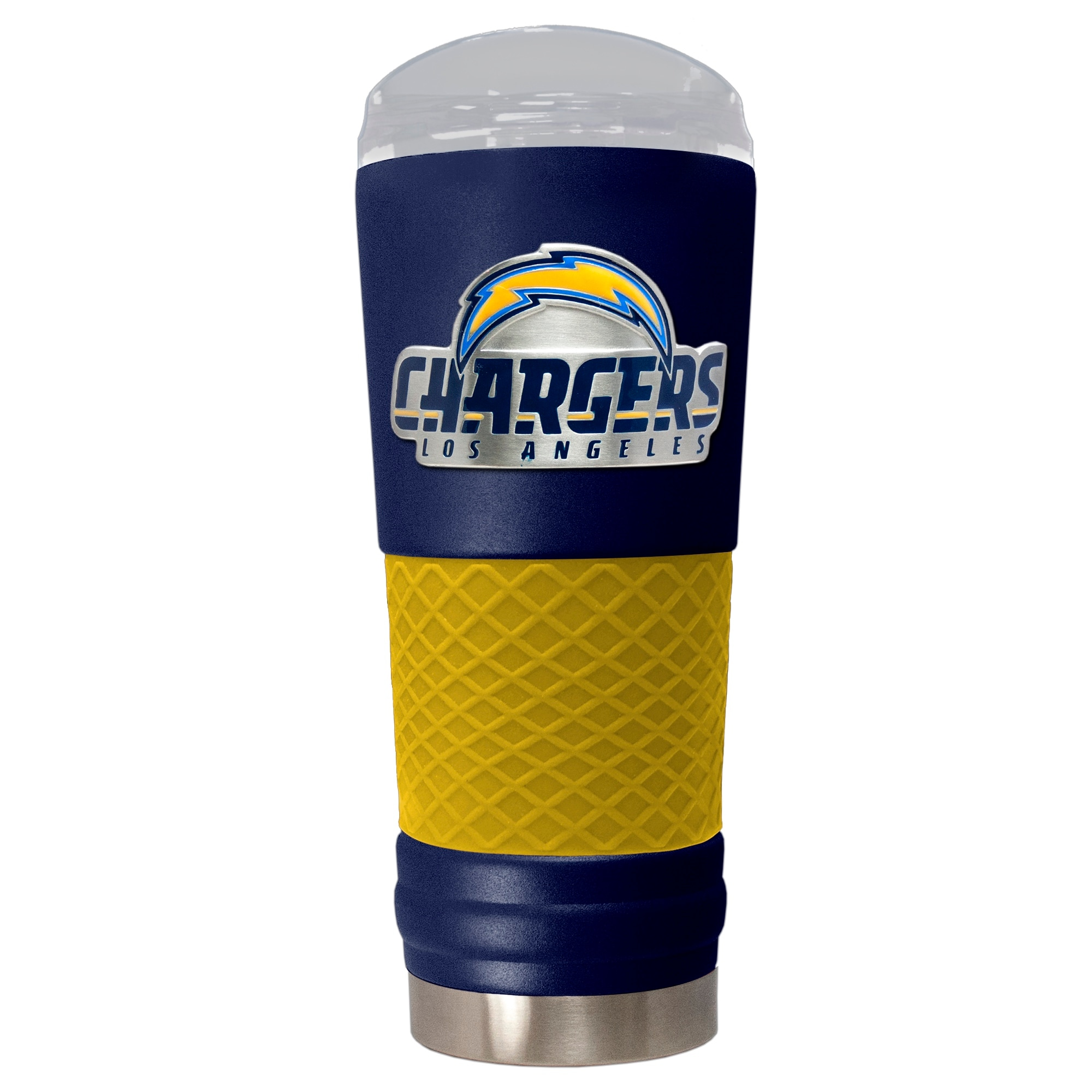Los Angeles Chargers 24oz. Powder Coated Draft Travel Mug - Blue