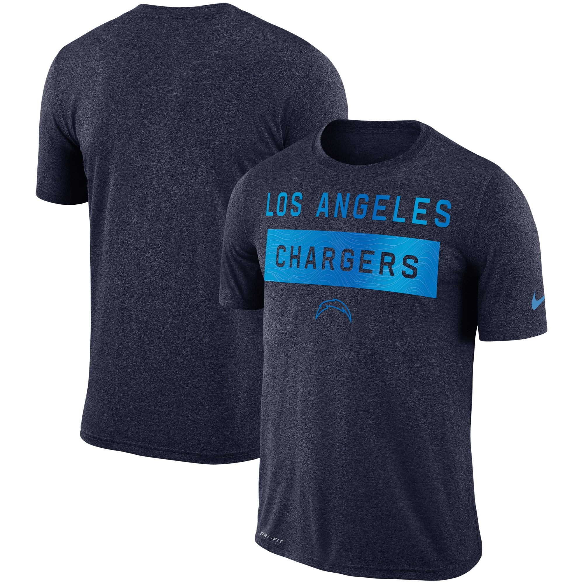 Los Angeles Chargers Nike Sideline Legend Lift Performance T-Shirt - Navy