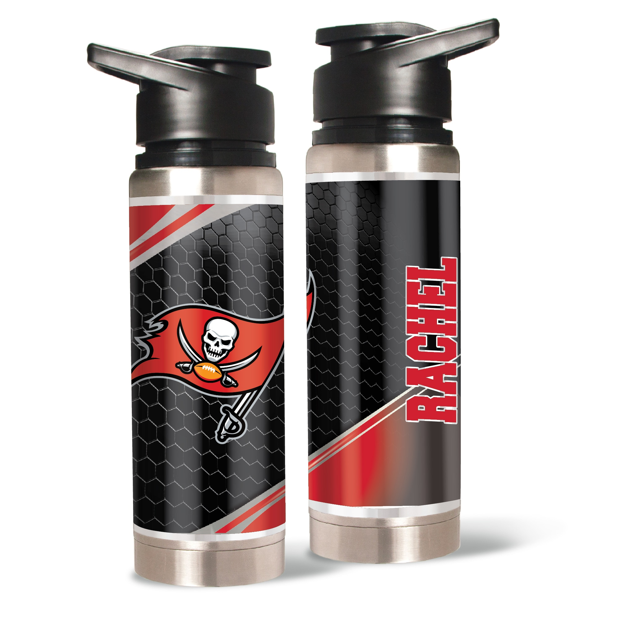 Tampa Bay Buccaneers 20oz. Personalized Water Bottle
