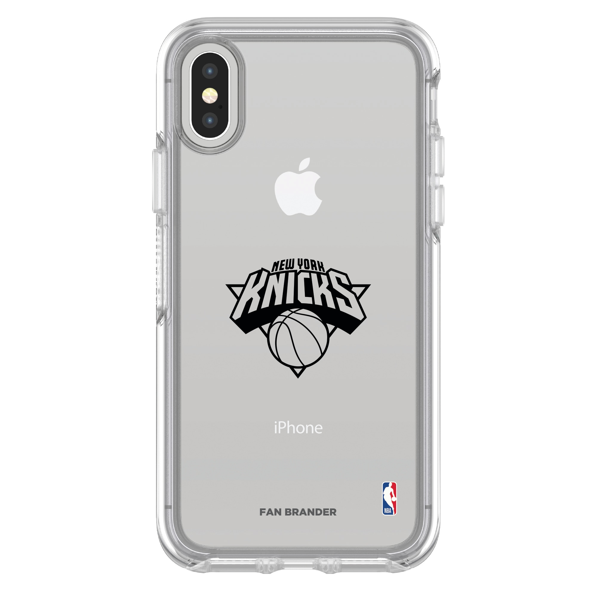 New York Knicks OtterBox Clear iPhone Symmetry Case