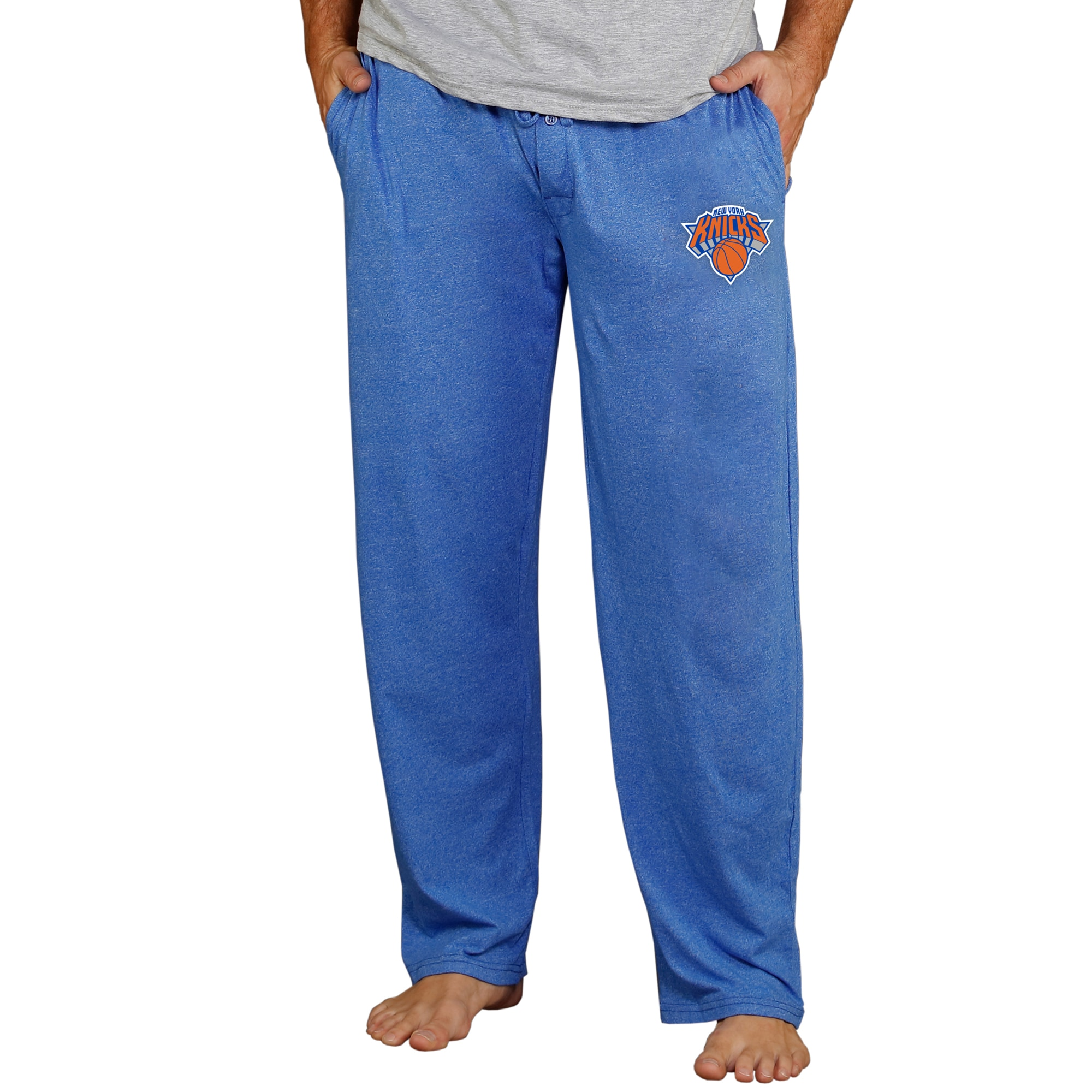 New York Knicks Concepts Sport Quest Knit Lounge Pants - Royal