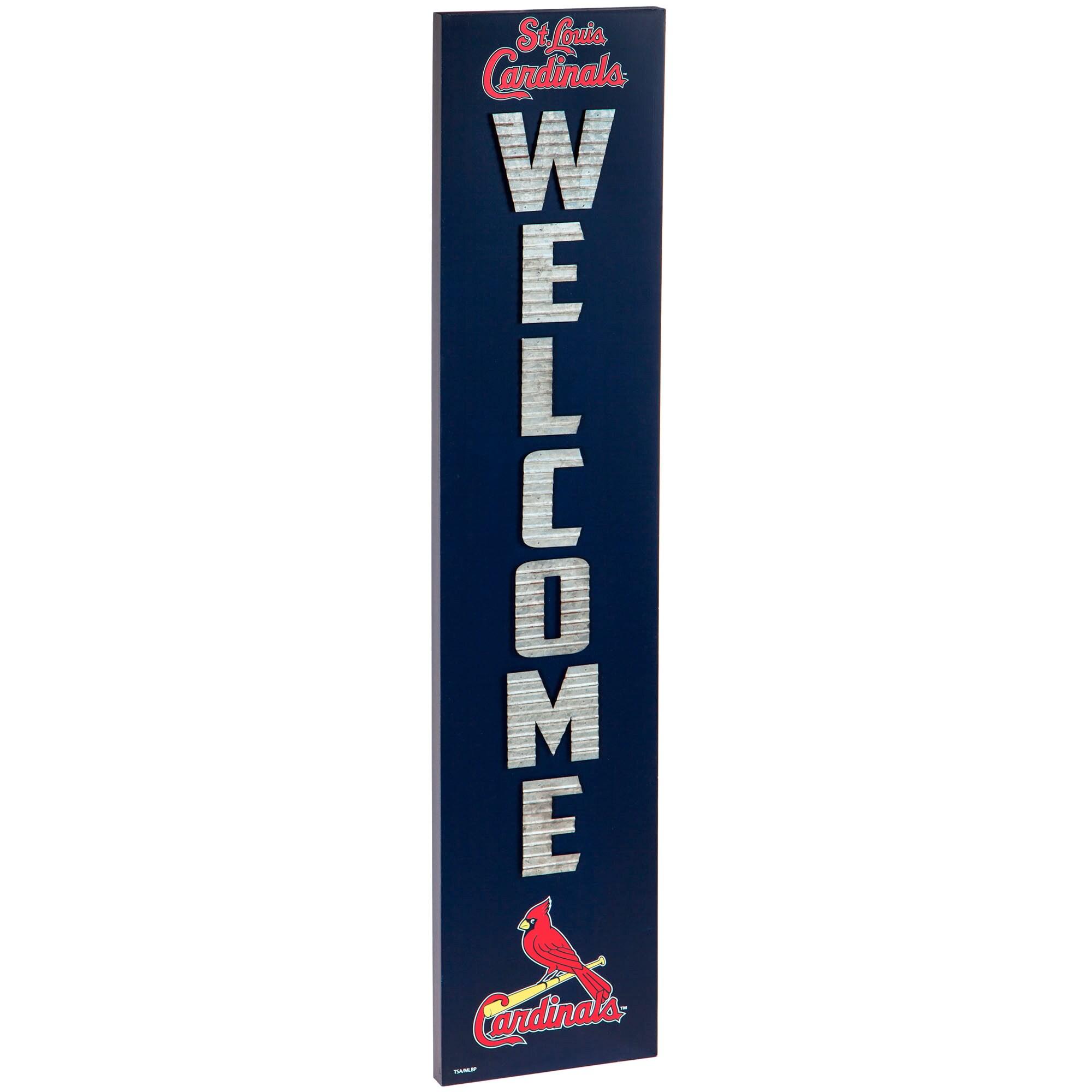 St. Louis Cardinals Porch Leaner