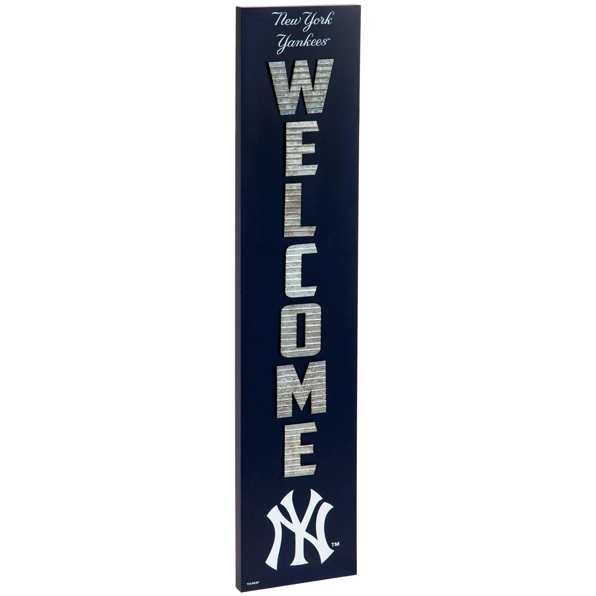 New York Yankees Porch Leaner