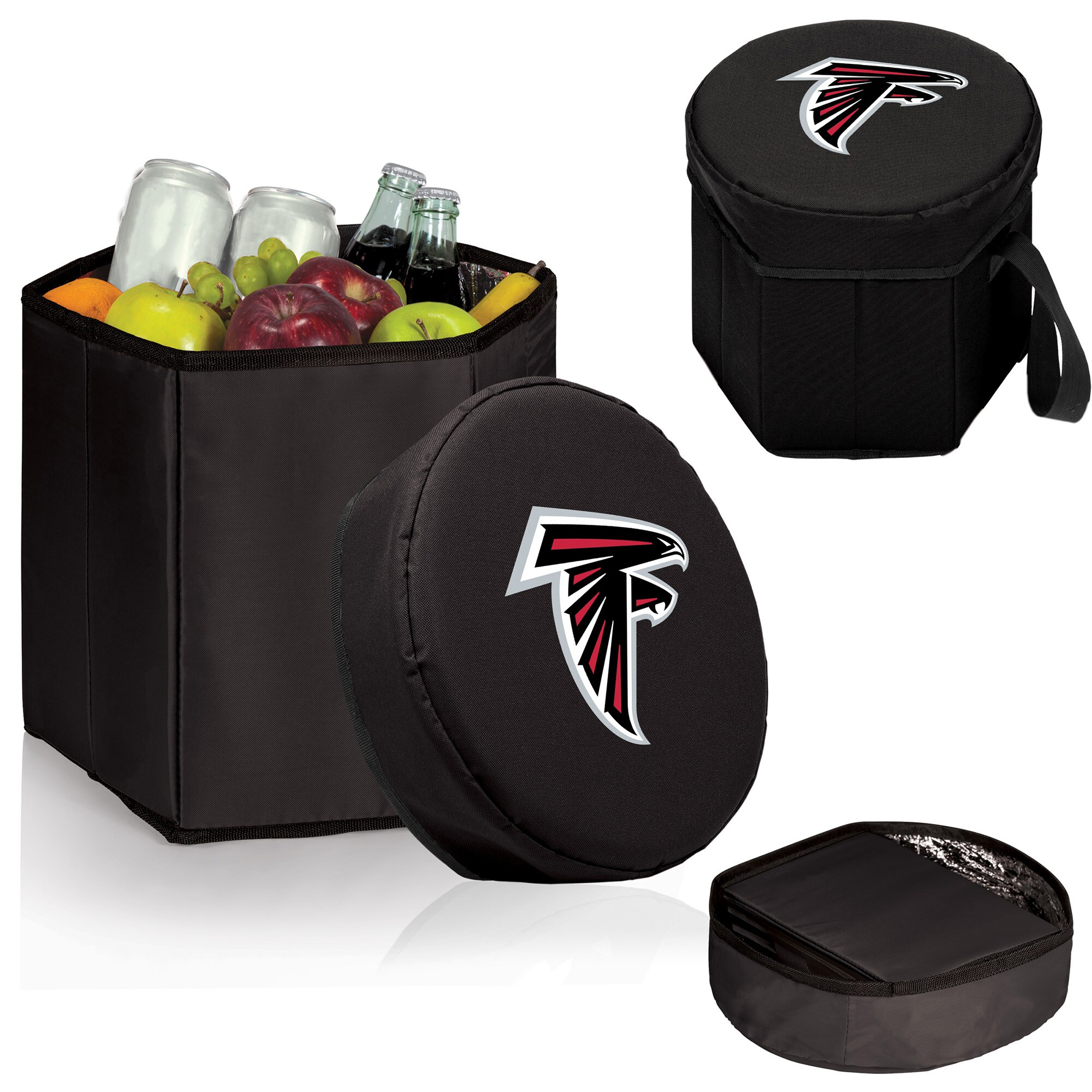 Atlanta Falcons 12 Quart Bongo Cooler - Black